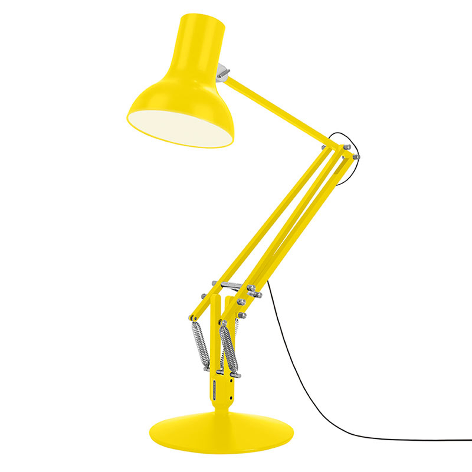 Anglepoise Type 75 Giant lampadaire jaune