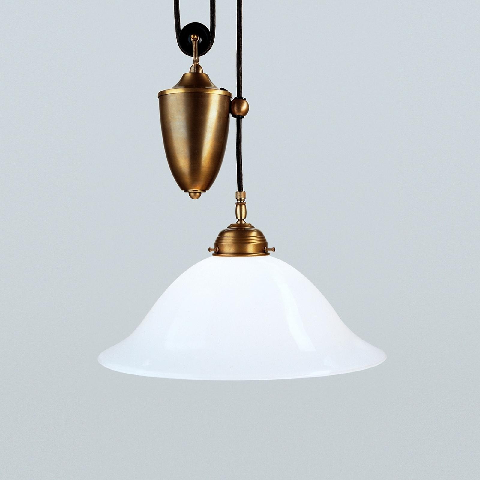 Bernd hanging light made of brass_1542082_1