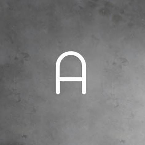 Artemide Alphabet of Light parete maiuscola