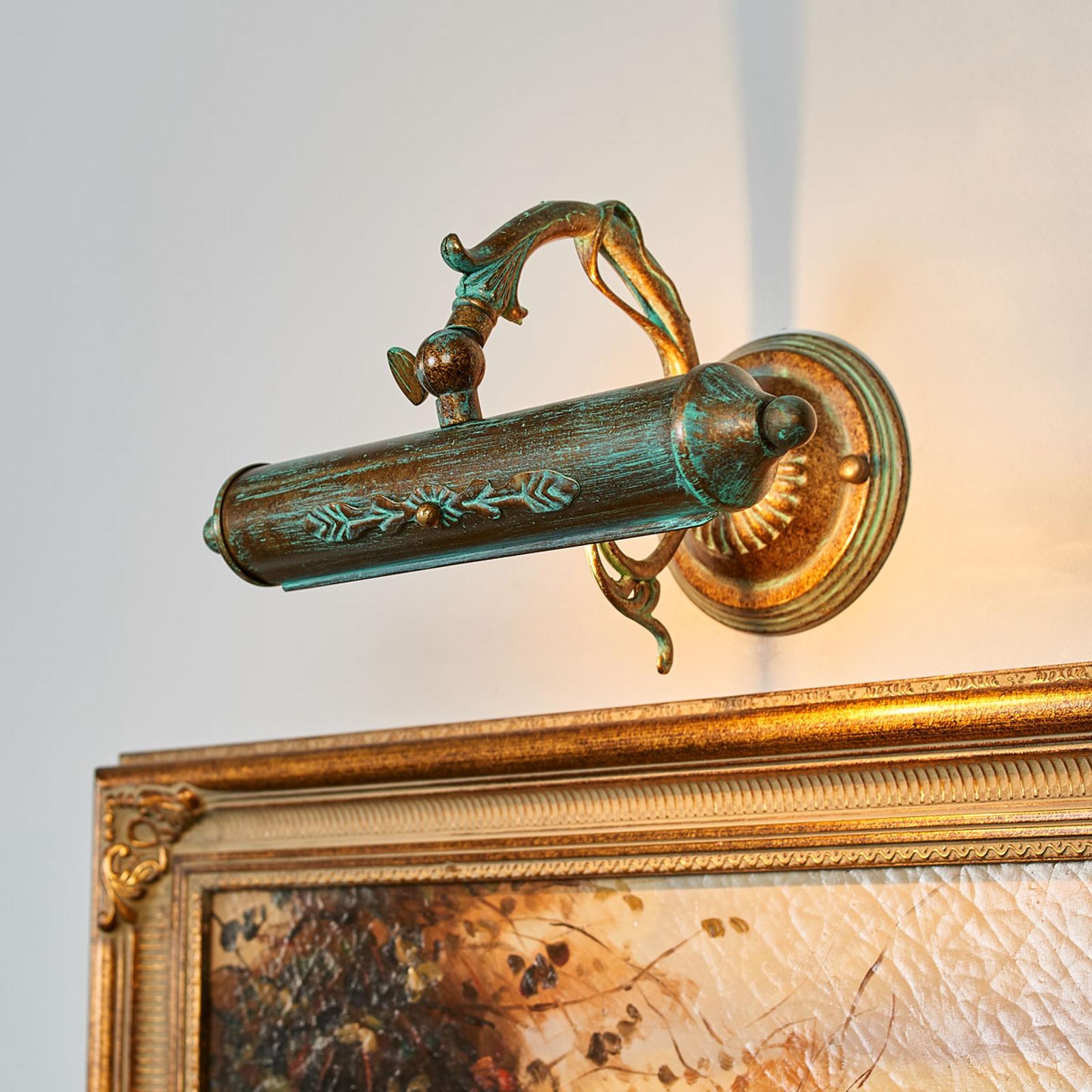 Antik billedlampe Kalea