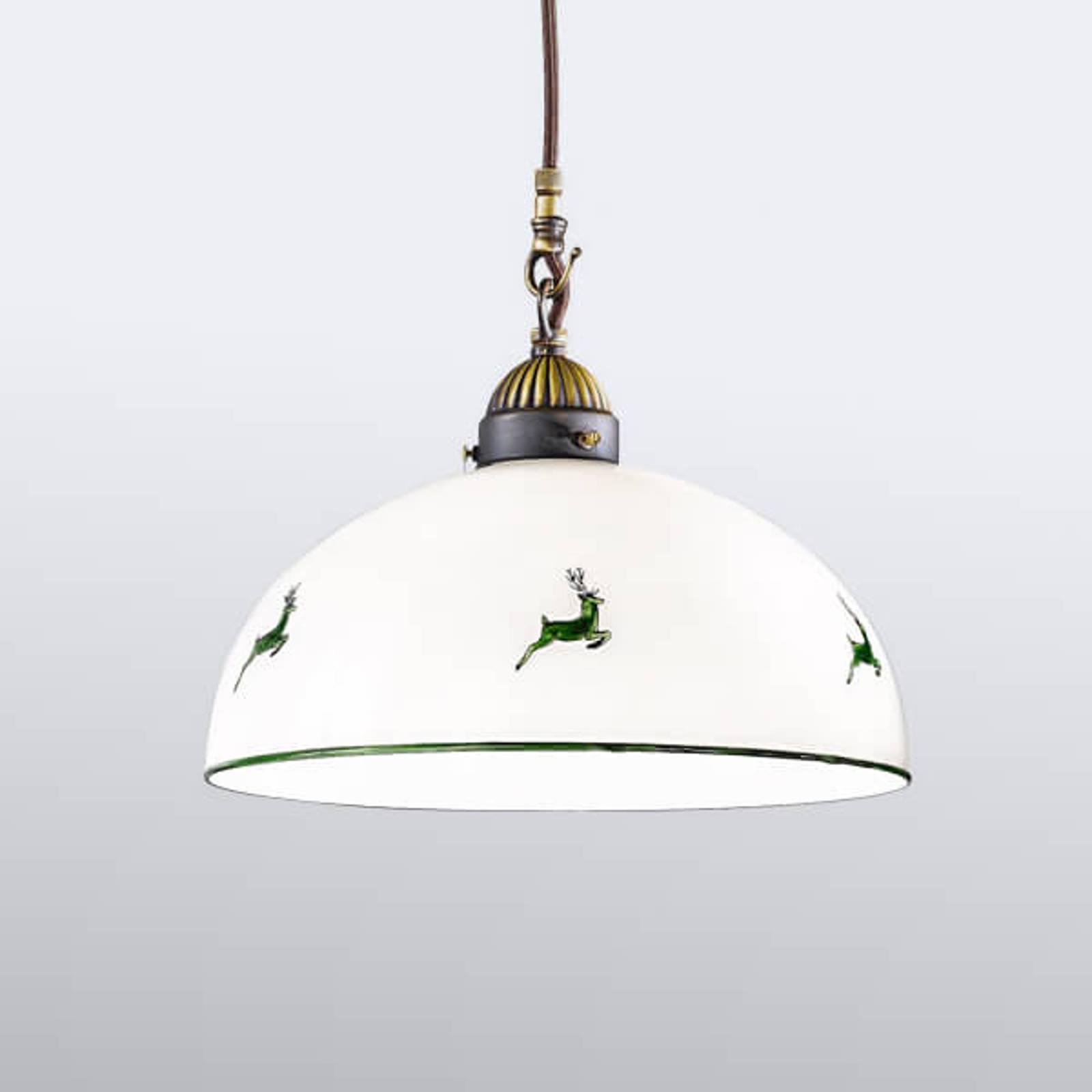 Czarująca lampa wisząca Nonna 30 cm