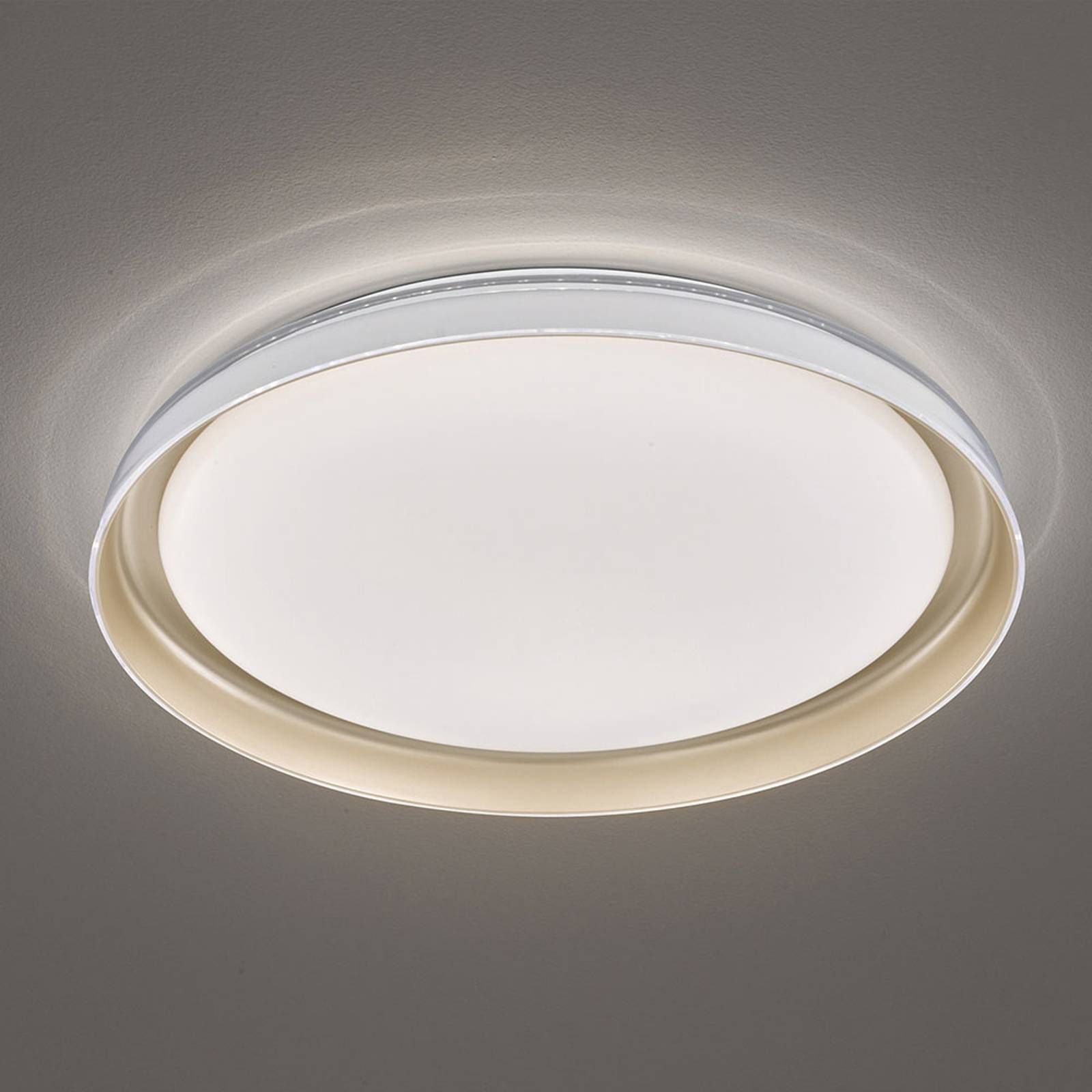 LED plafondlamp Rilla, dimbaar, Ø 43 cm