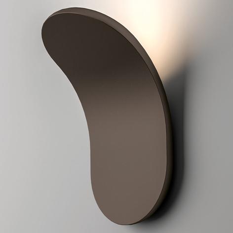 Axolight Lik LED wandlamp nikkel mat