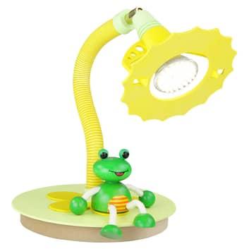Lampa stołowa LED Żaba, dla dzieci