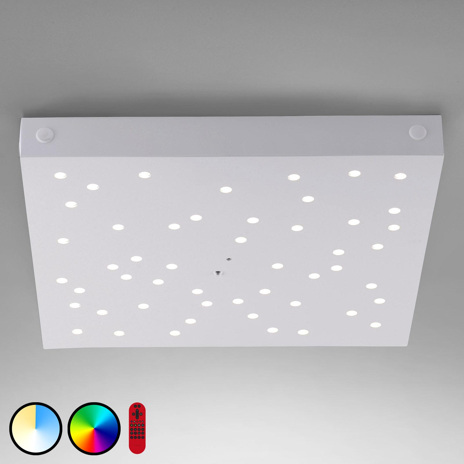 LOLAsmart Stars LED-taklampe, 36 x 36 cm