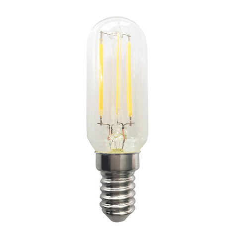 LED koelkastlamp E14 4W Classic Mini filament