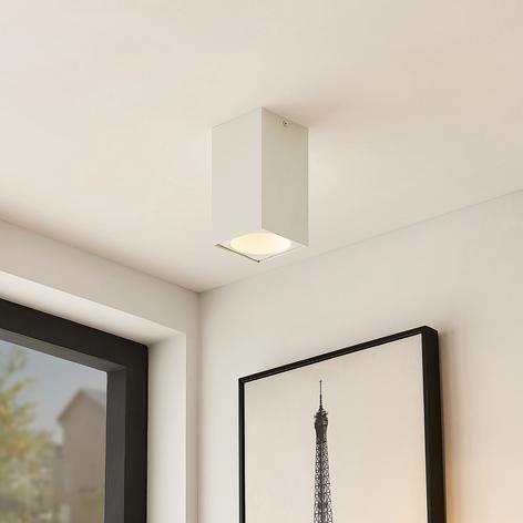 Arcchio Hinka stropní světlo, hranaté, 18 cm, bílé