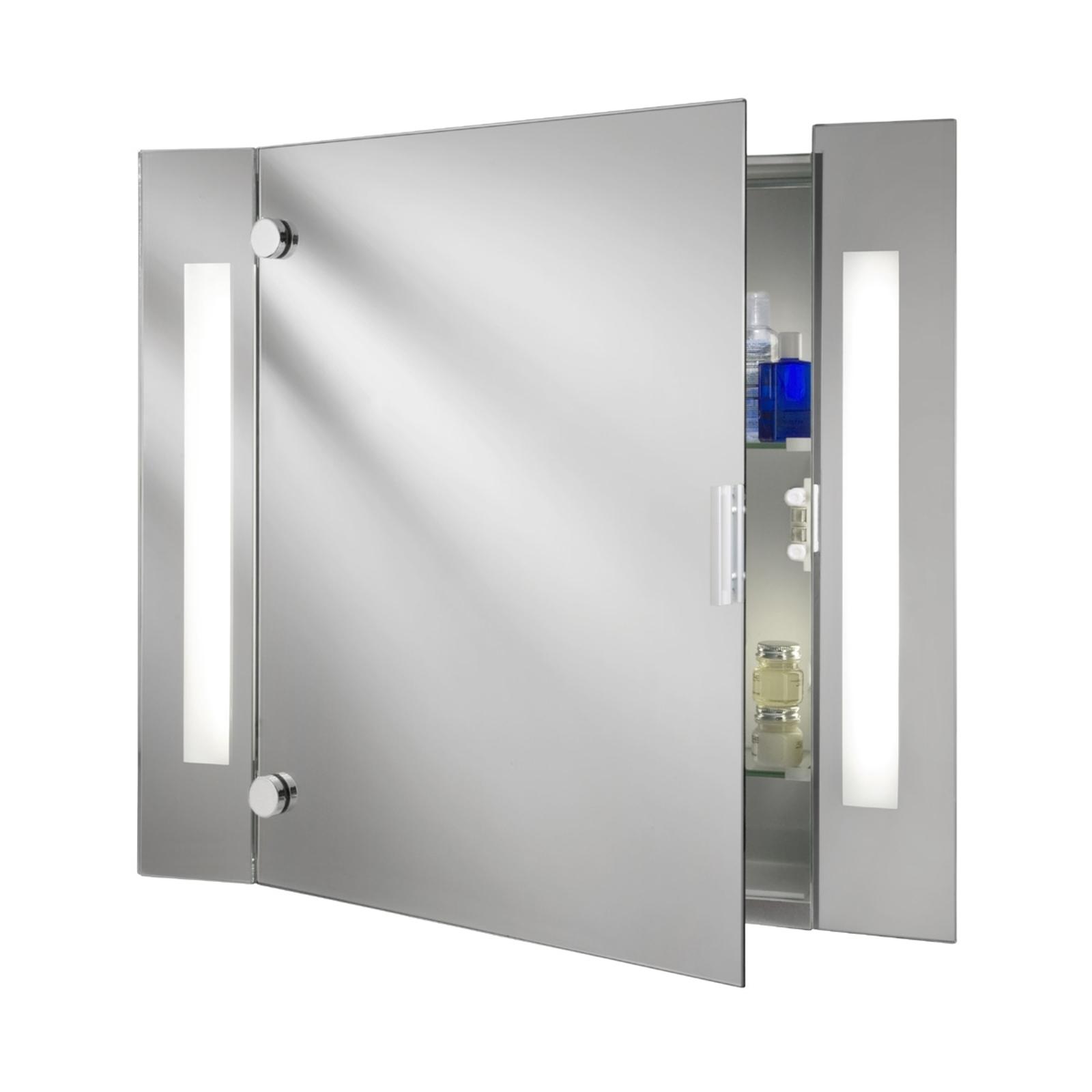 Modernt spegelskåp Silva med belysning