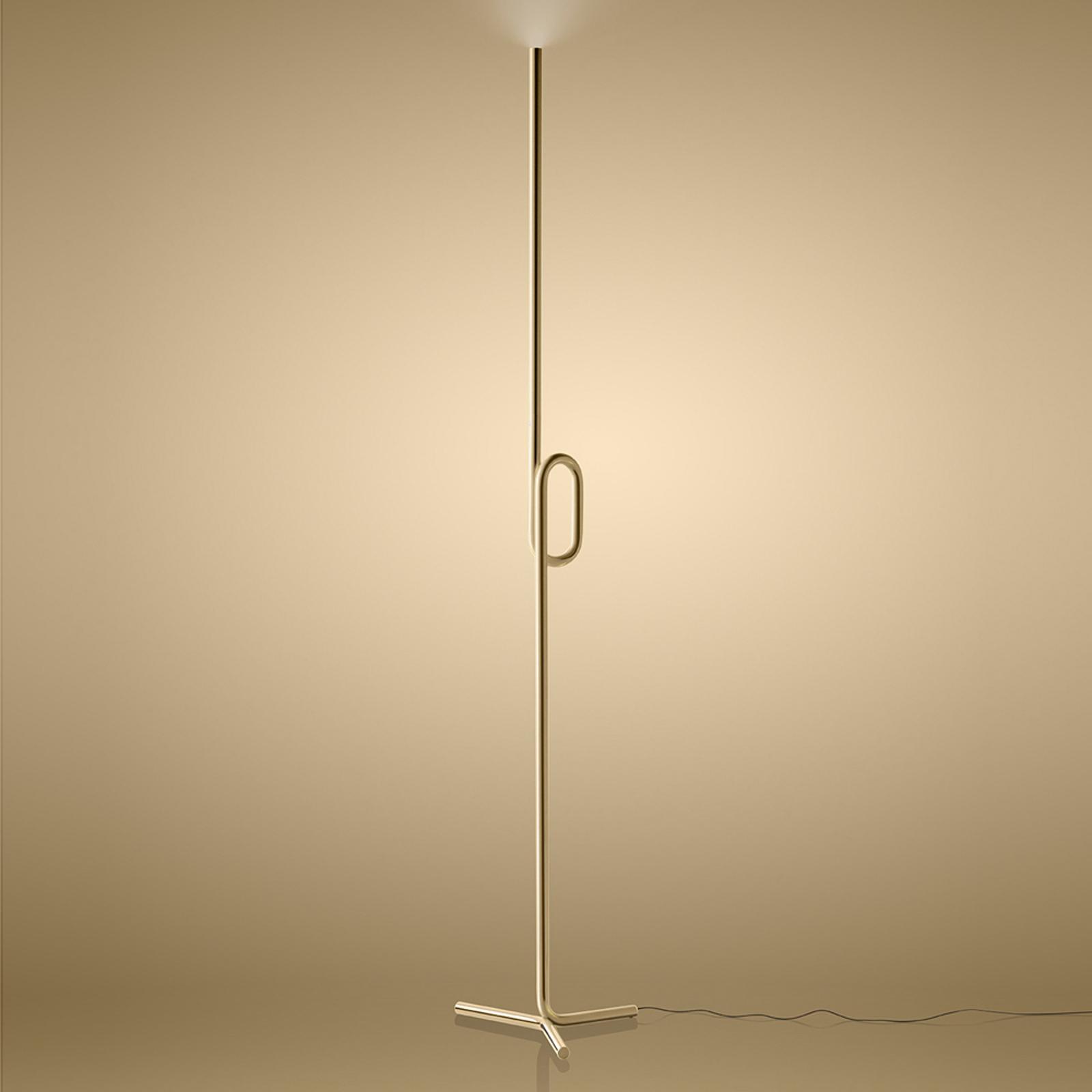 Foscarini Tobia terra LED-Stehleuchte, gold