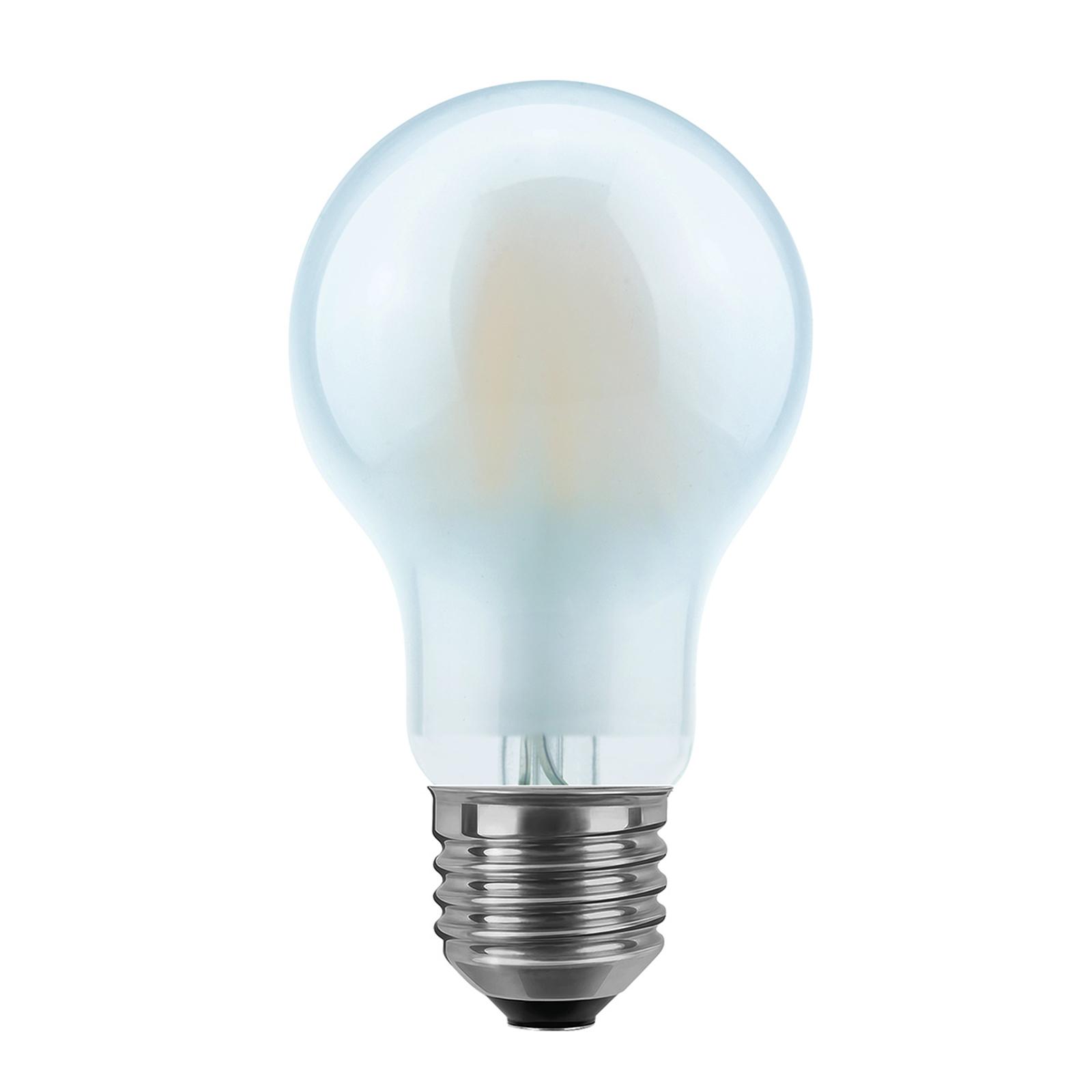 LED-Lampe E27 8W 2.700K in Birnenform, matt