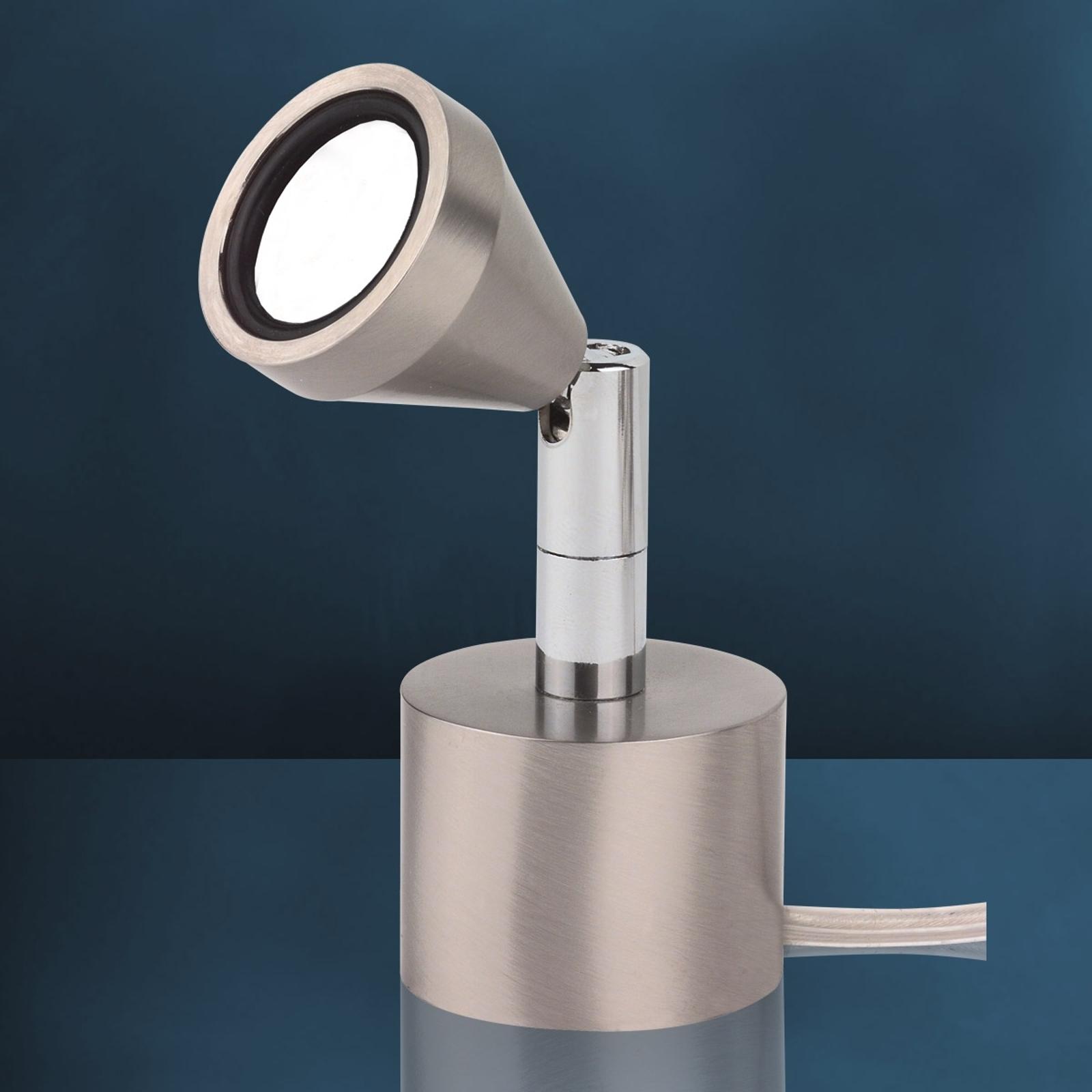 Otočná stolní lampa LED MINI, univerzální bílá