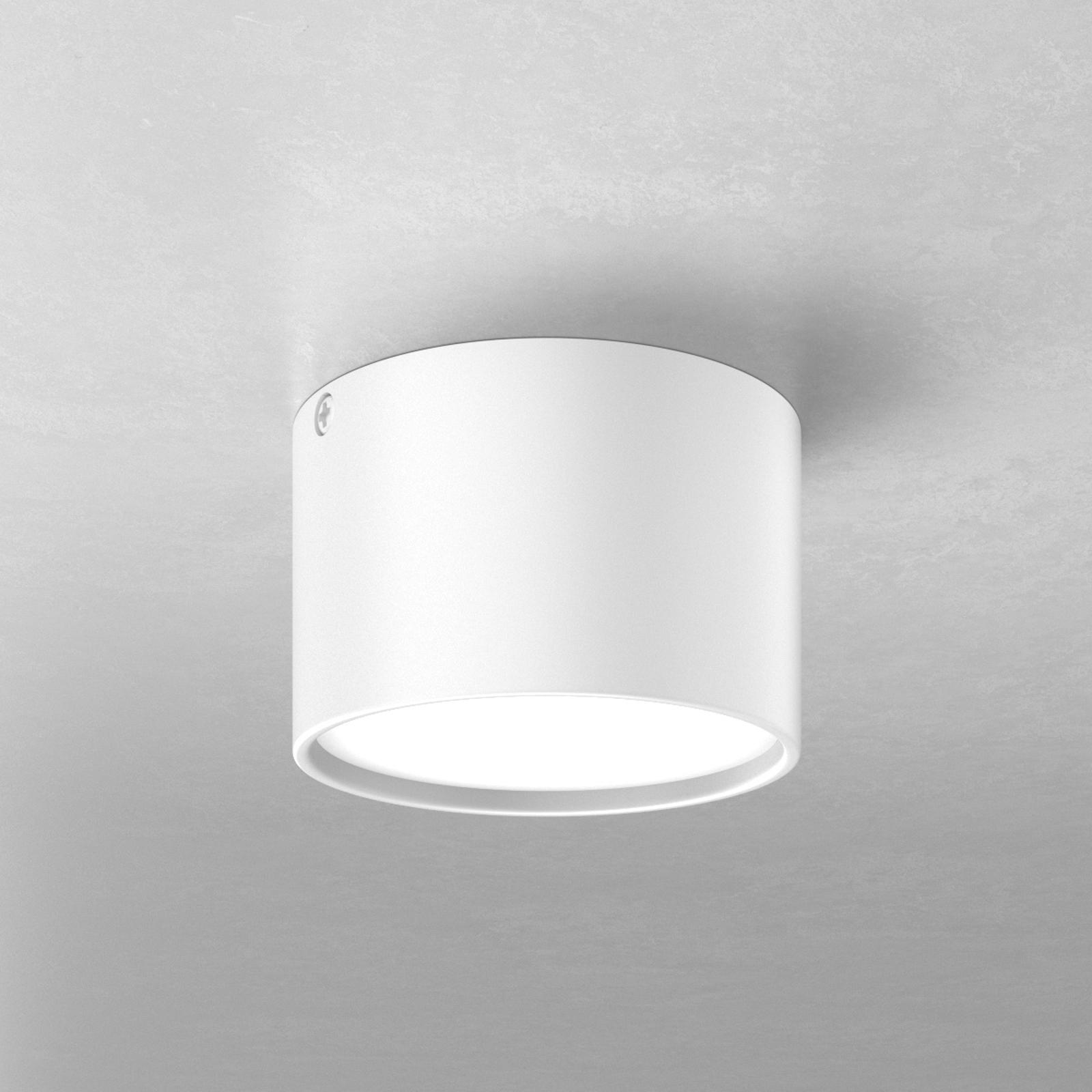 Runde LED-Deckenlampe Mine, weiß 9 cm