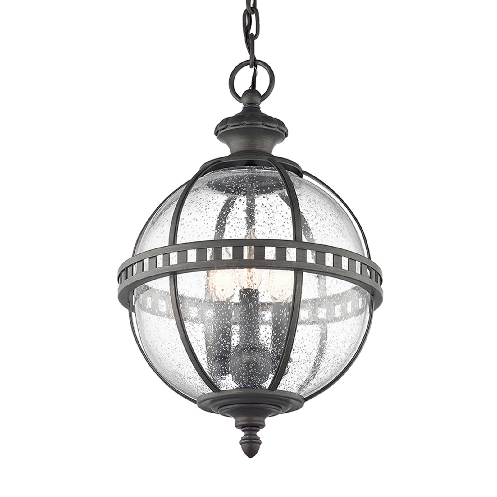 Zewnętrzna lampa wisząca Halleron, wiktoriańska