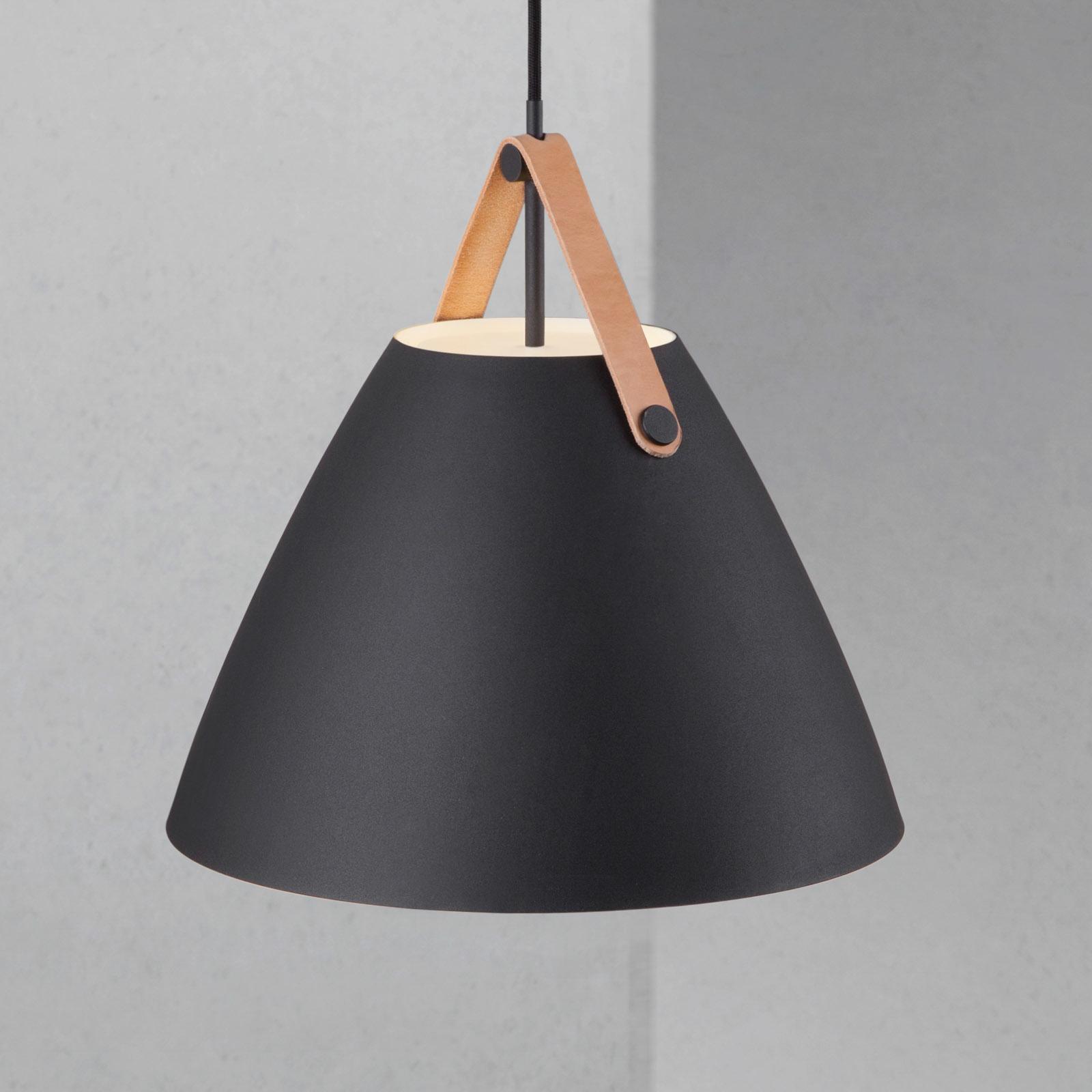 LED-Pendelleuchte Strap 36, schwarz