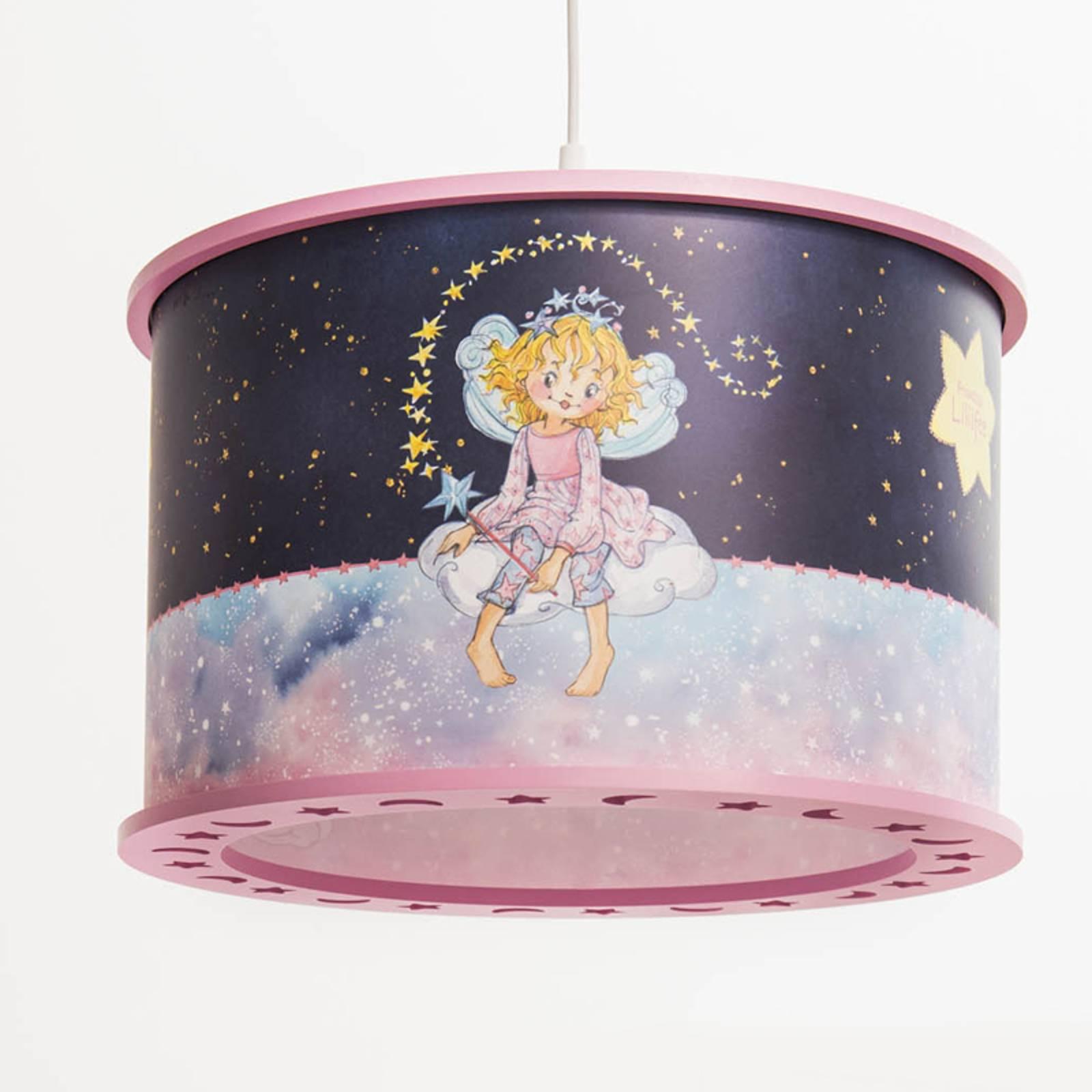 Lampa wisząca Księżniczka Lillifee, magia gwiazd