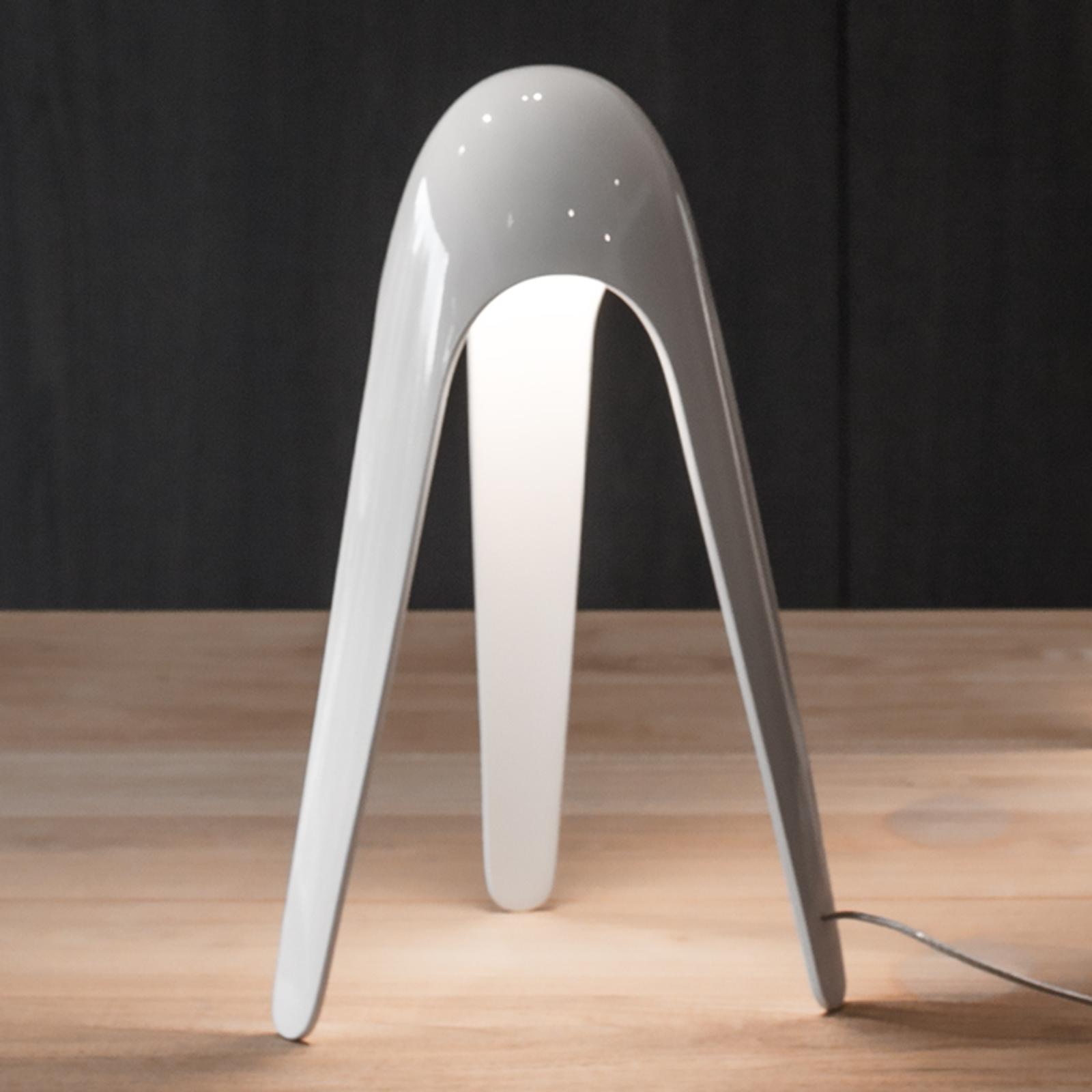 Martinelli Luce Cyborg LED-Tischleuchte, weiß