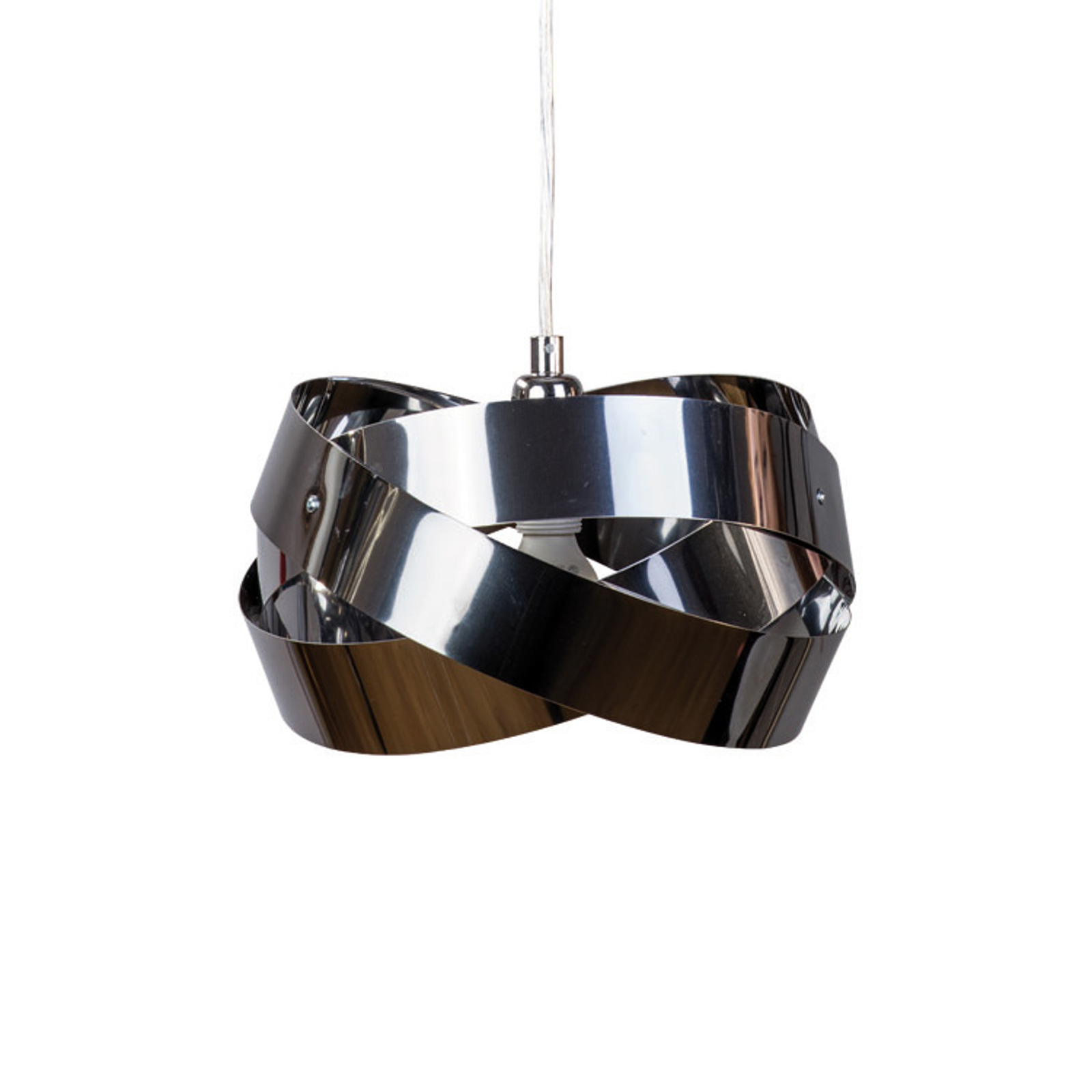 Suspension Tornado Ø 26 cm chromé-nickel