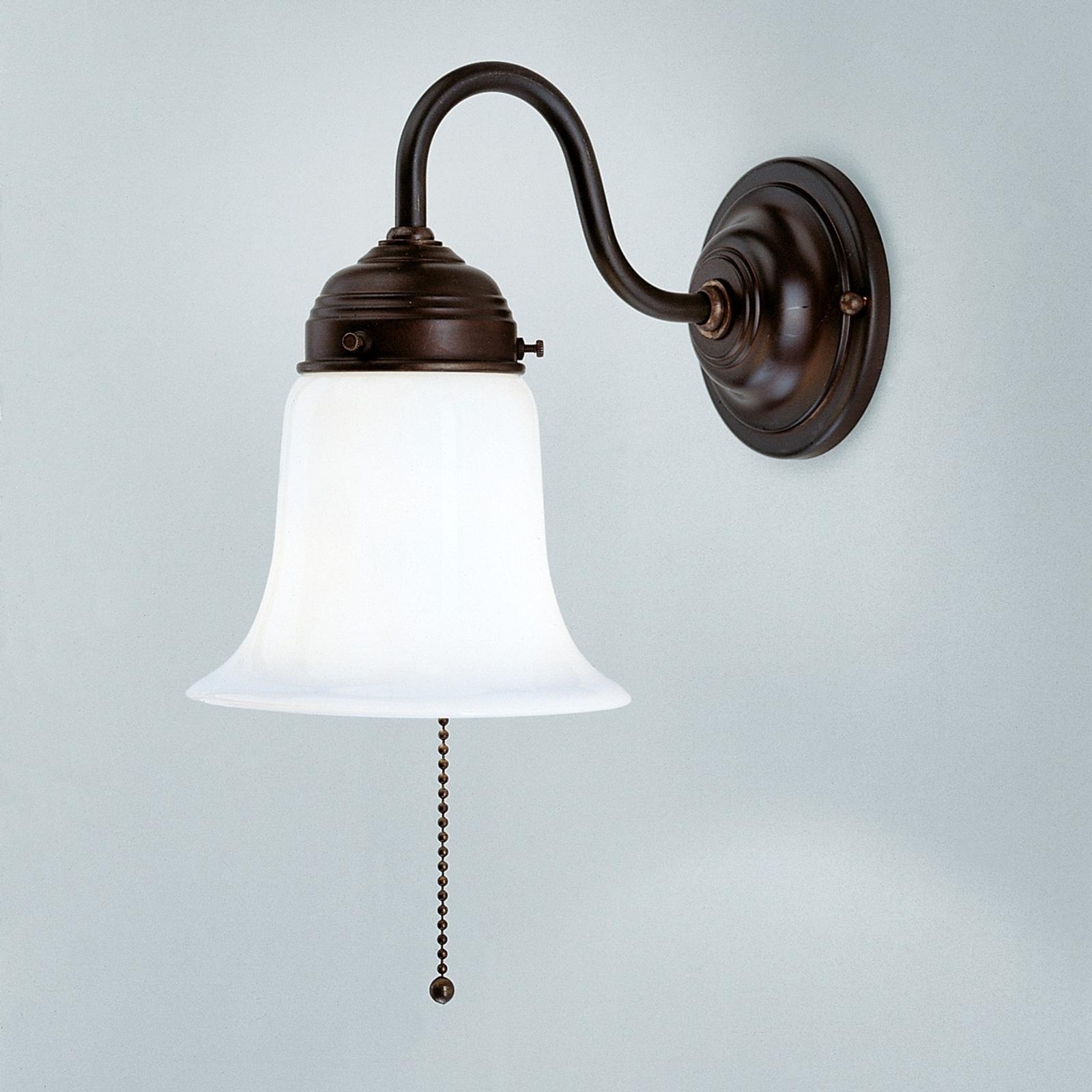 Vegglampe Sibille med antikt preg