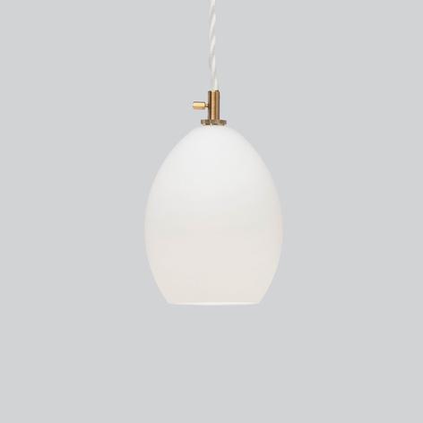 Northern Unika glas-hanglamp wit