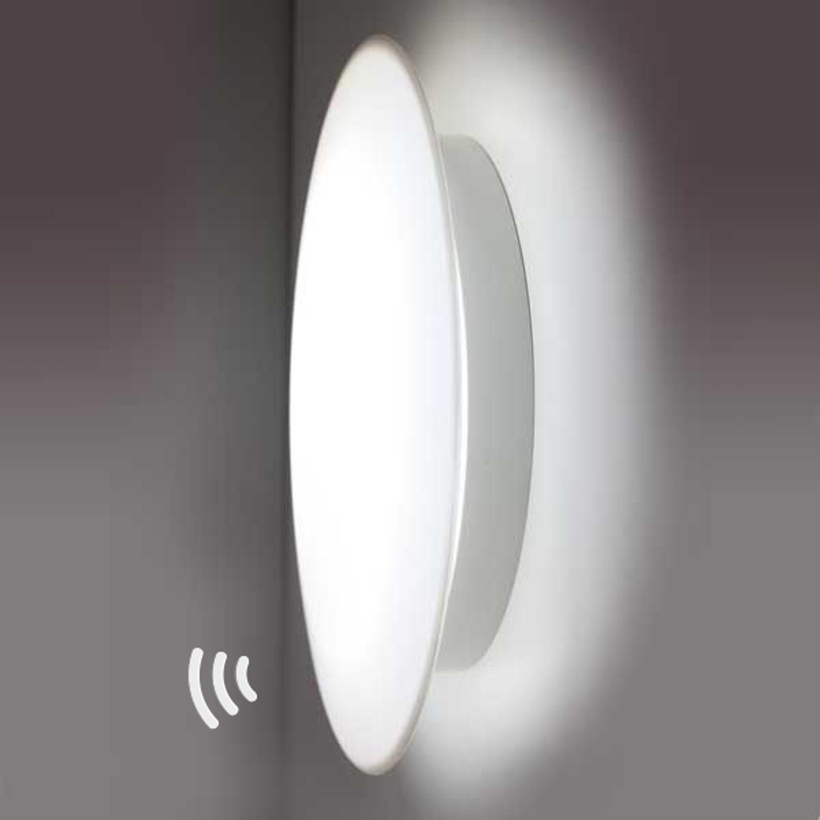 LED-Wandleuchte Sun 3 4.000K 13W mit Sensor