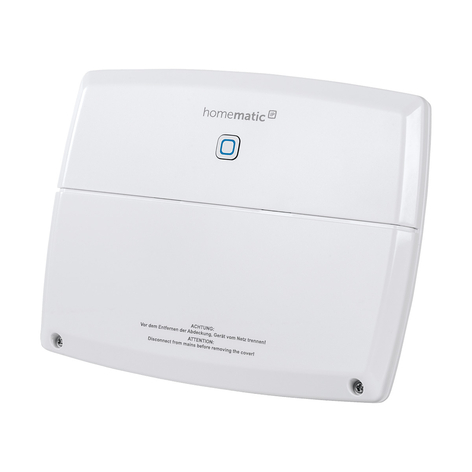 Homematic IP Multi IO Box-besturingseenheid
