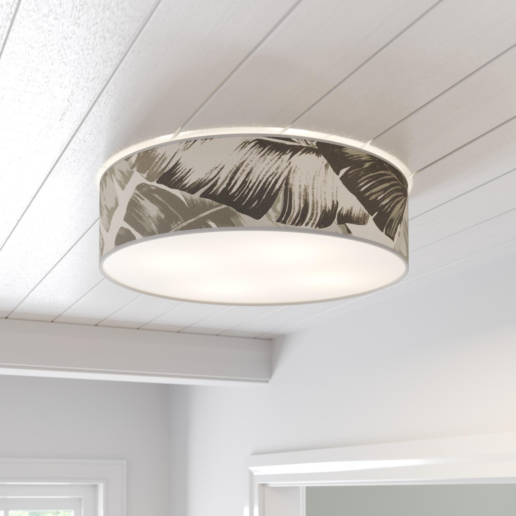 Plafondlamp Madera met opening rond Ø 58 cm