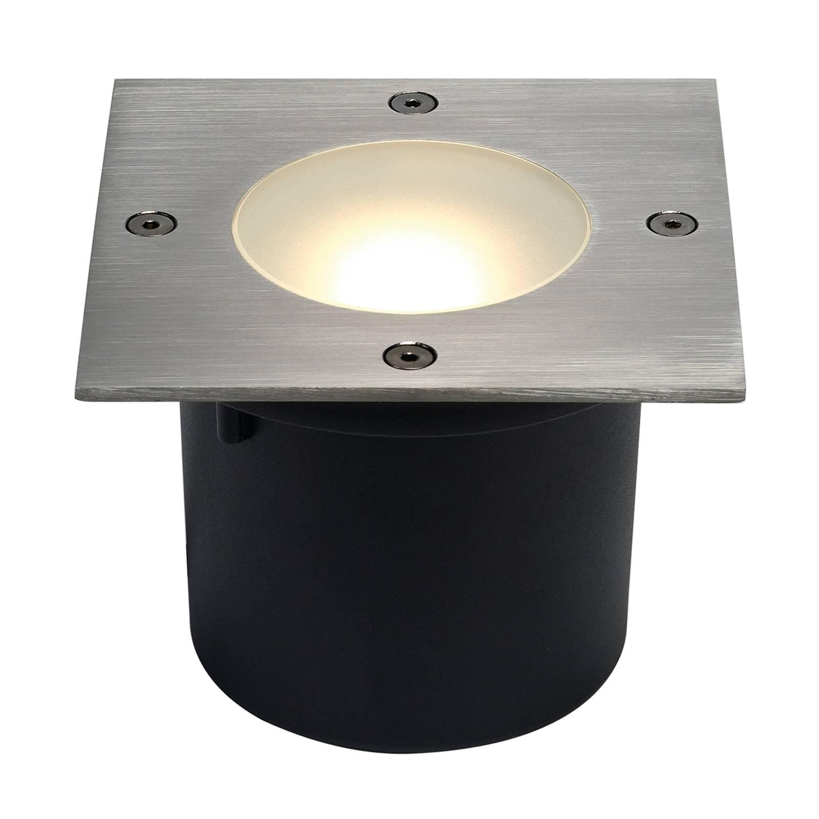 SLV Wetsy Disk faretto LED da incasso, angolare