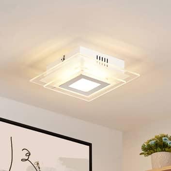 Lindby Arima LED nástěnné světlo, hranaté