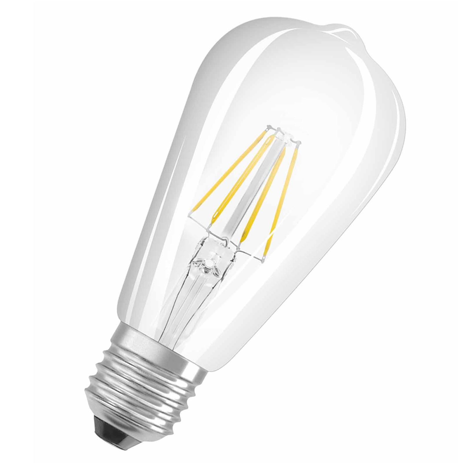 OSRAM LED-Lampe E27 6,5W ST64 Rustika 827