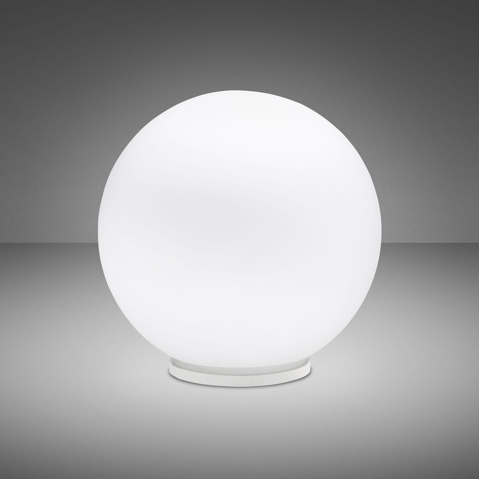 Fabbian Lumi Sfera tafellamp, liggend, Ø 35 cm