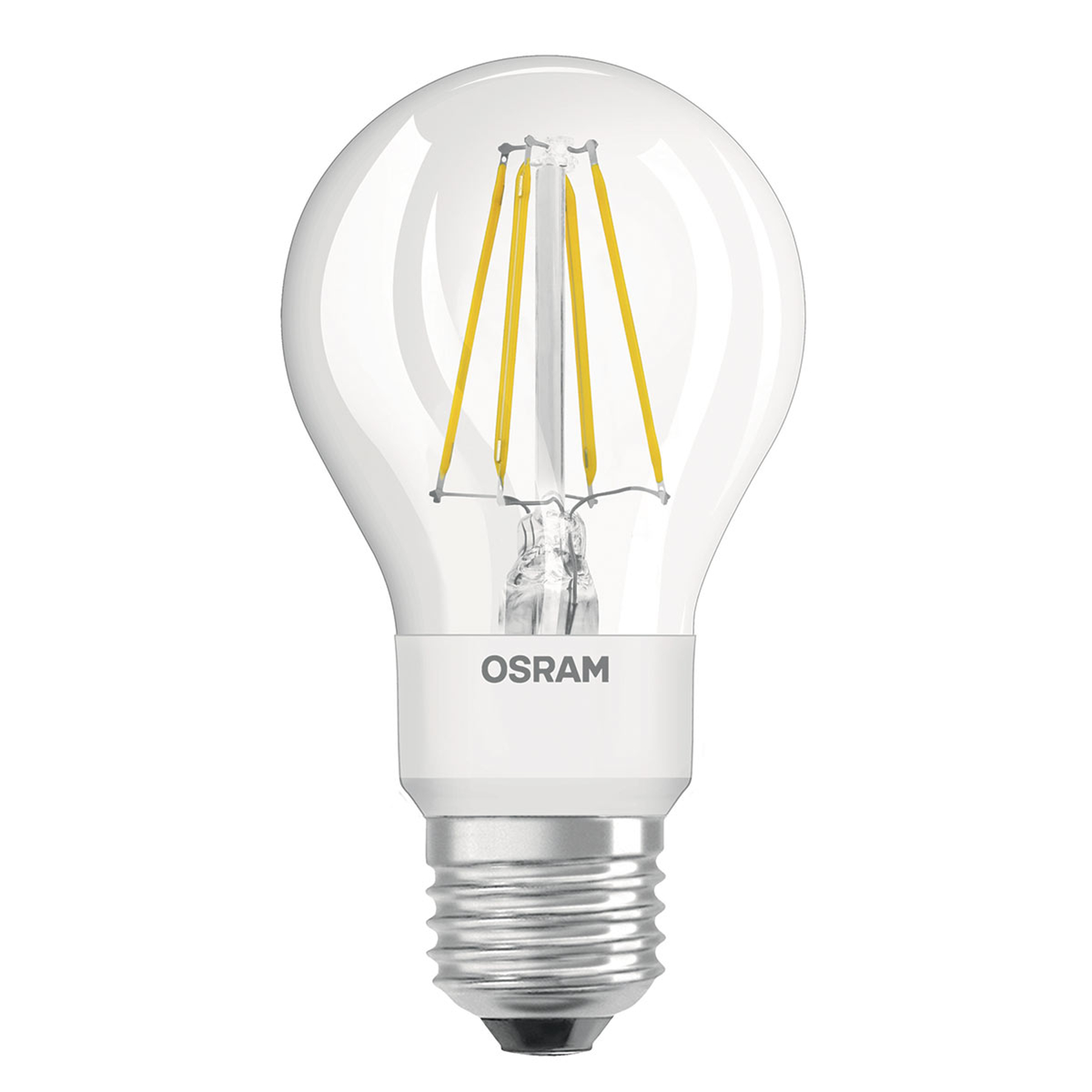 OSRAM LED 4,5W Star+ GLOWdim filamenti trasparente