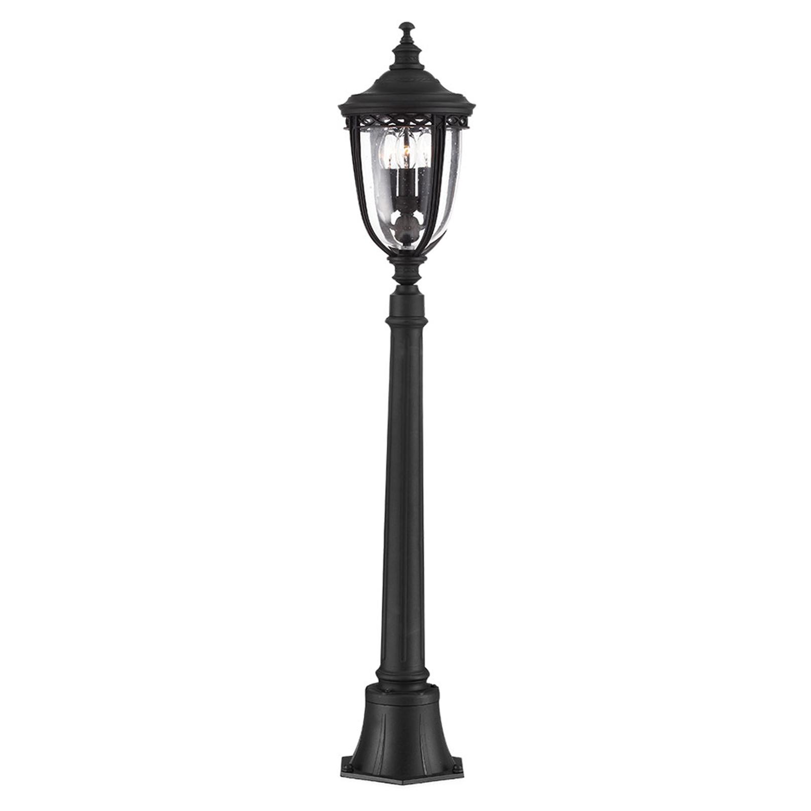 Tuinpadverlichting English Bridle, zwart