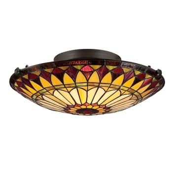 West End loftlampe i Tiffany-design