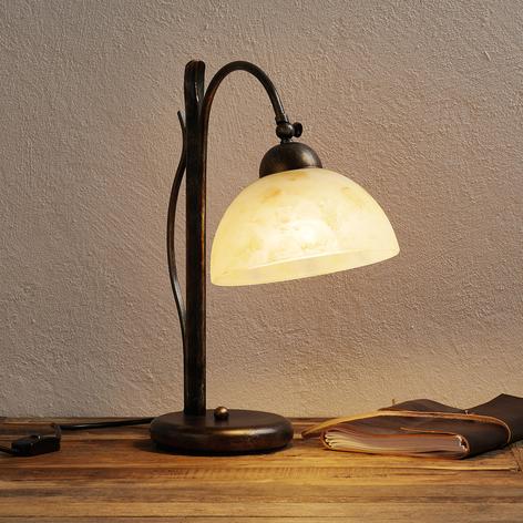 Tafellamp DANA, handbeschilderd