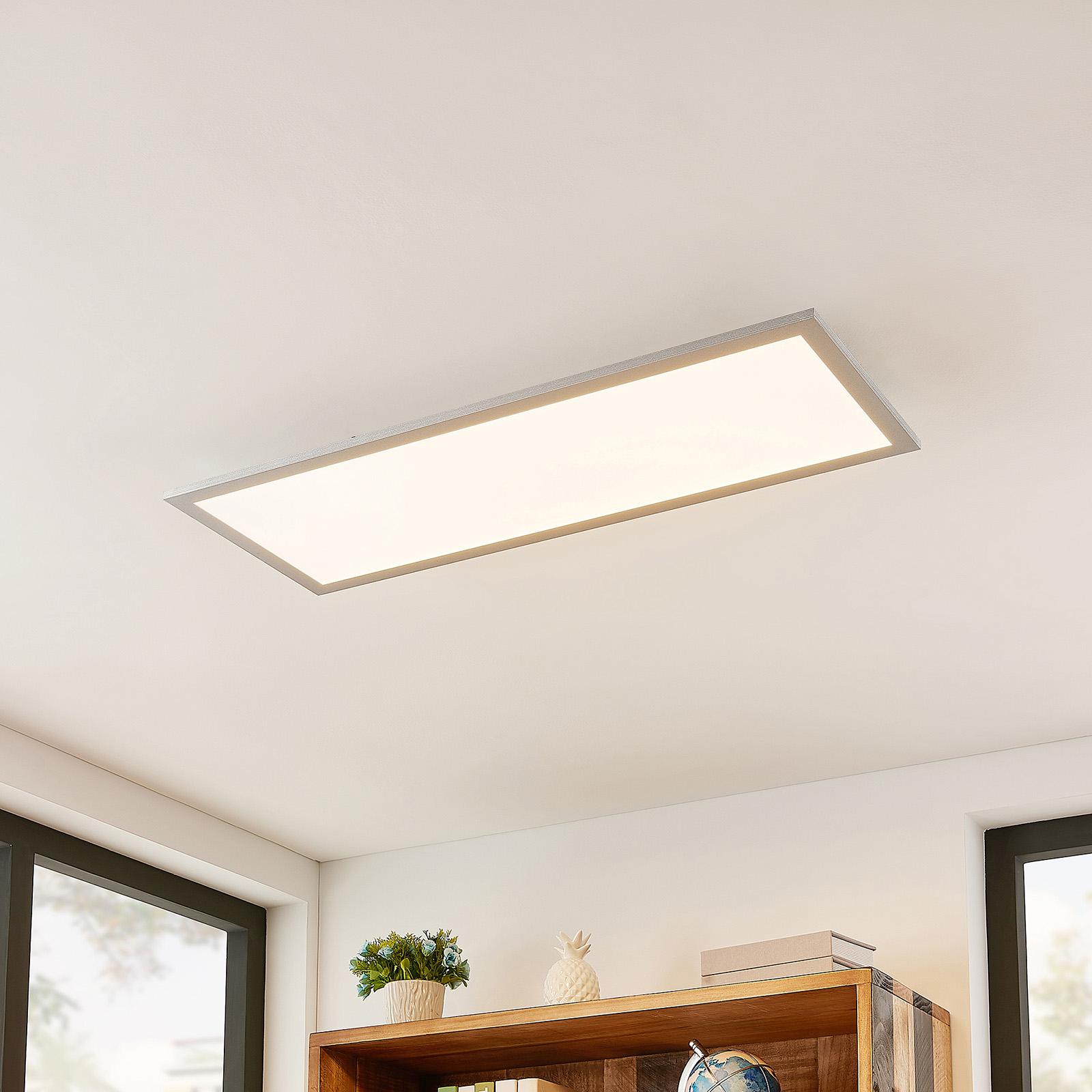 Lindby Kjetil LED-Deckenpanel 80 x 30 cm