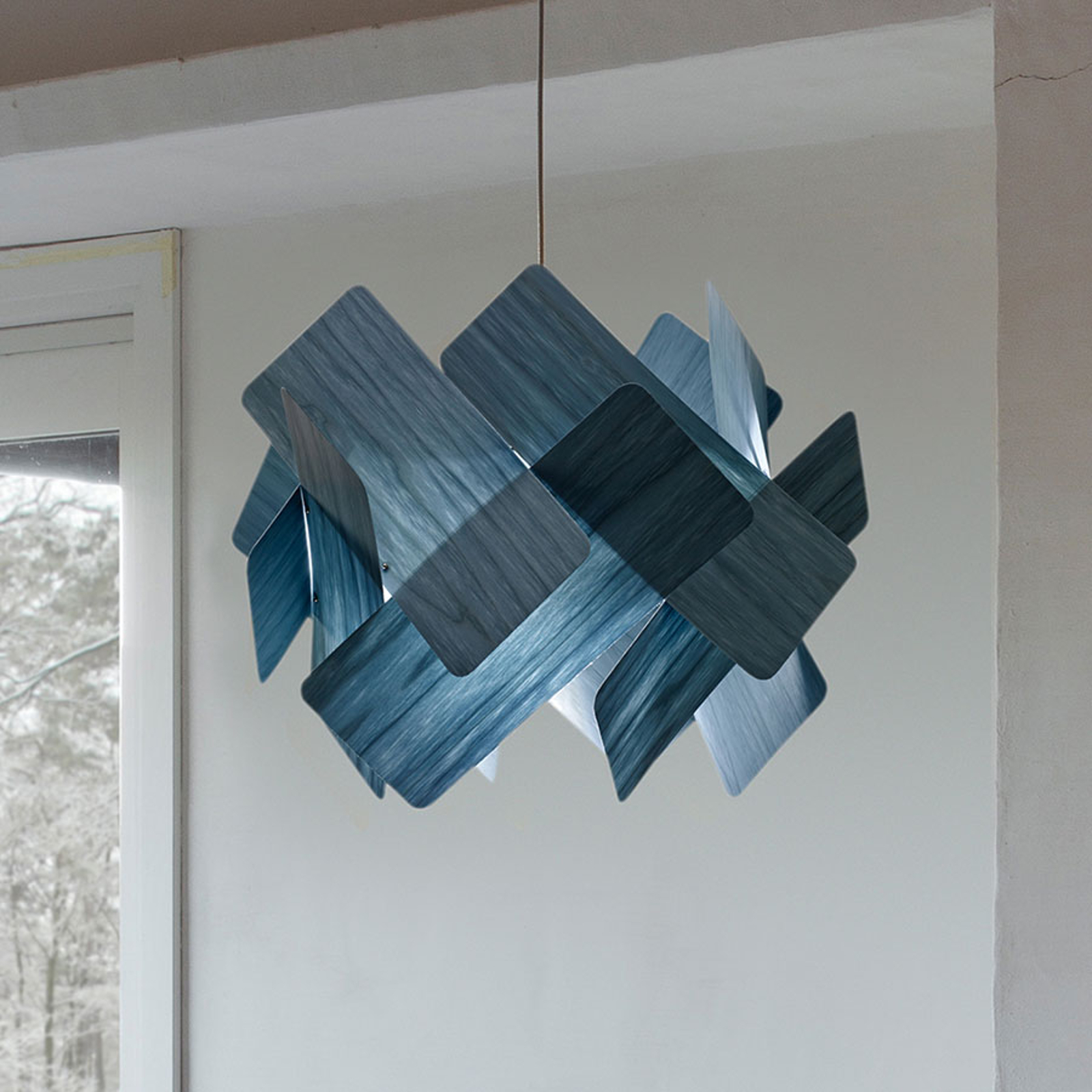 LZF Escape hanglamp, Ø 40 cm, blauw