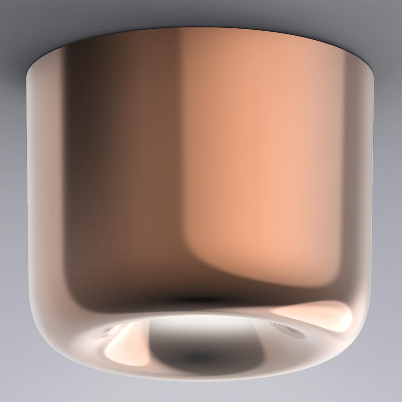 serien.lighting Cavity Ceiling L, bronzo