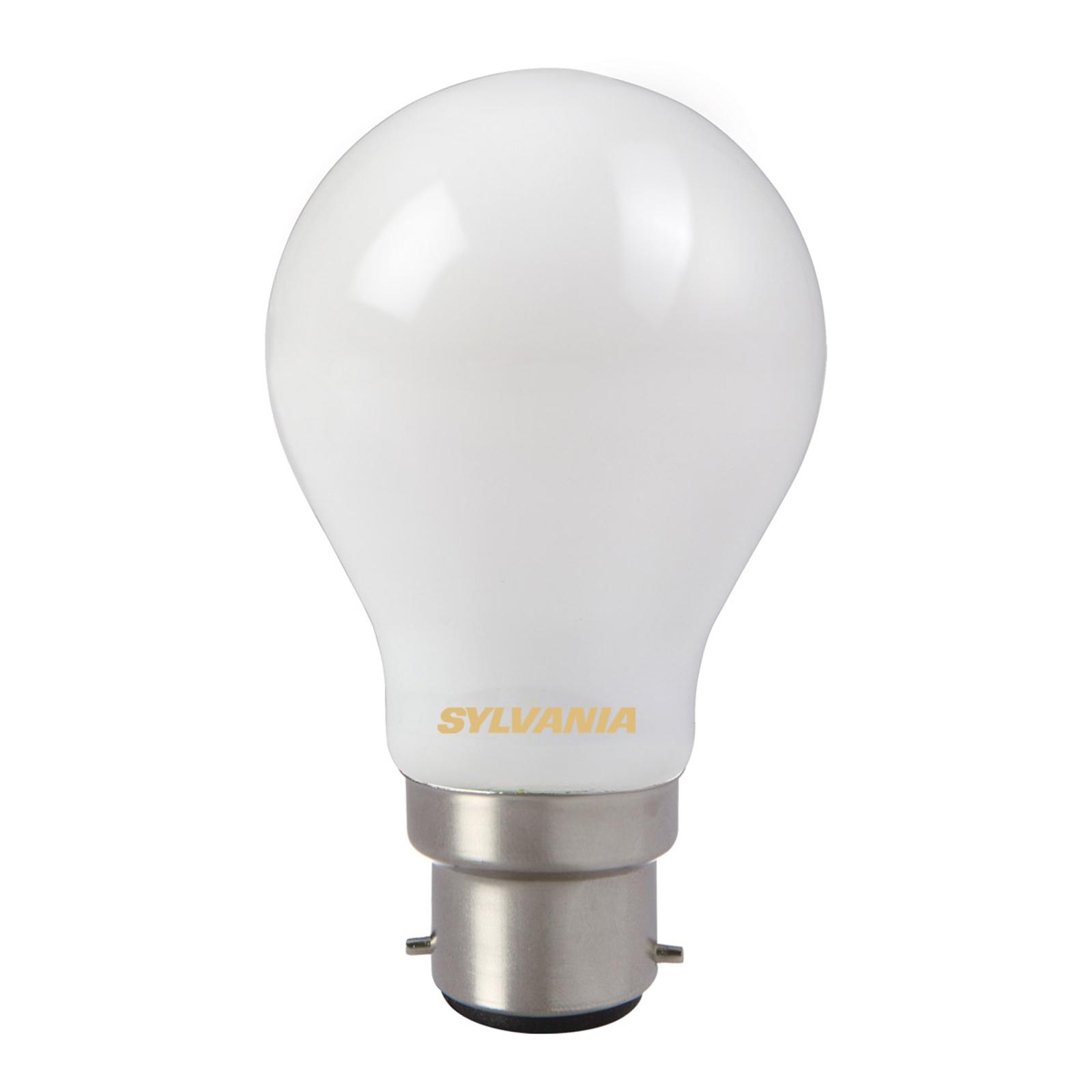 Lampadina LED 827 B22 7W satinata