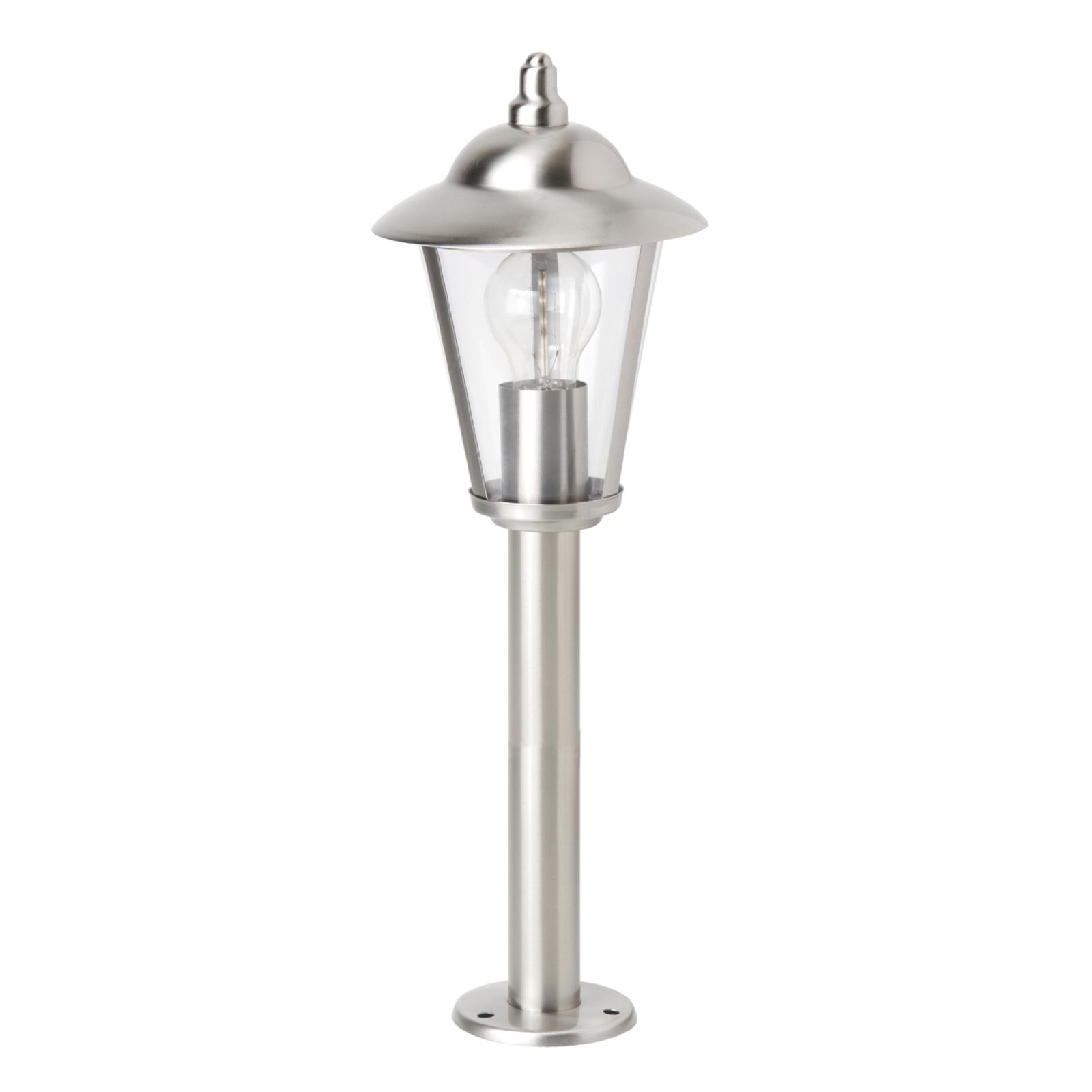 Sokkellampe Neil av rustfritt stål