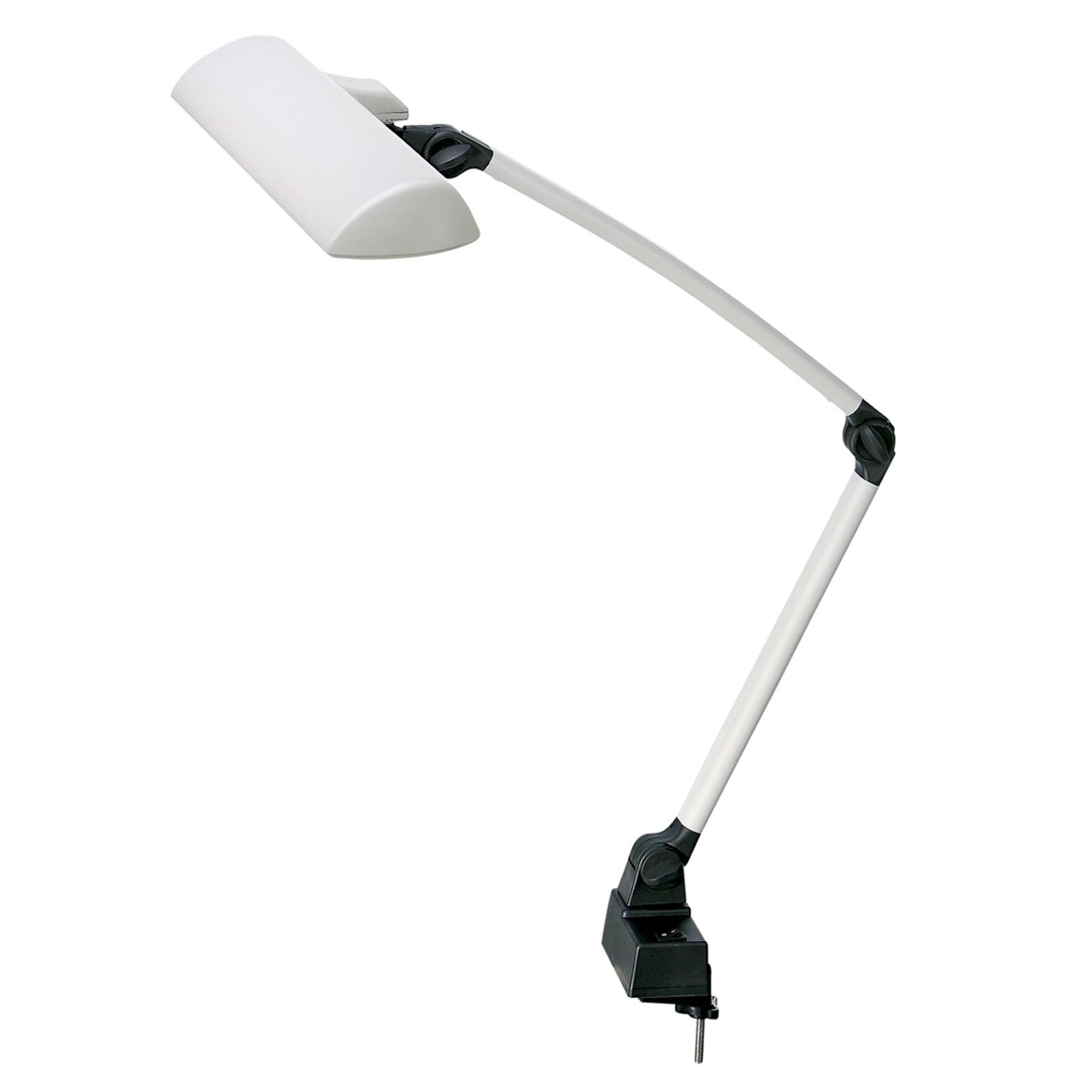 Werkpleklamp CLIP lichtgrijs