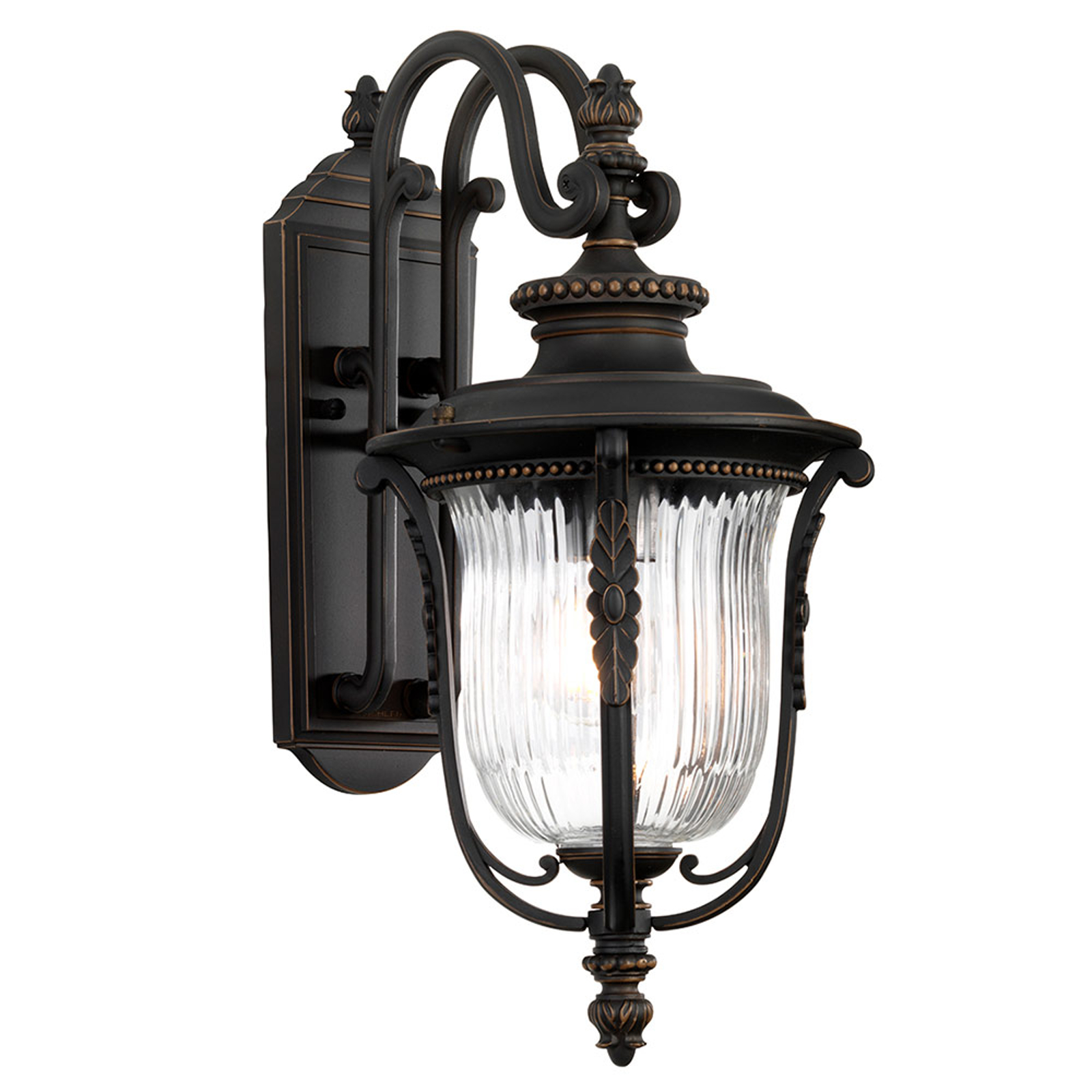 Außenwandlampe Luverne, Ø 22,9 cm