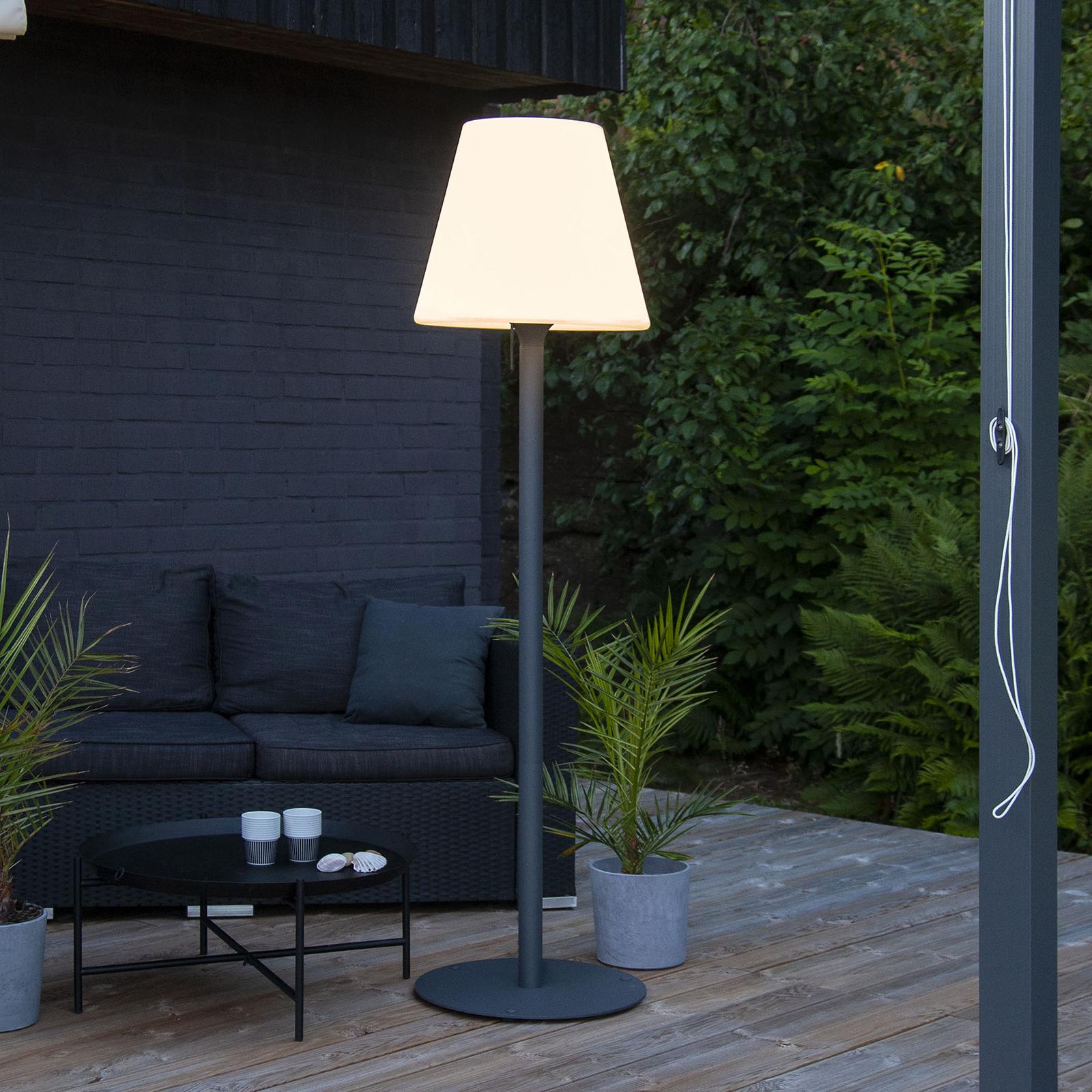 Lámpara de pie Gardenlight Kreta 184 cm