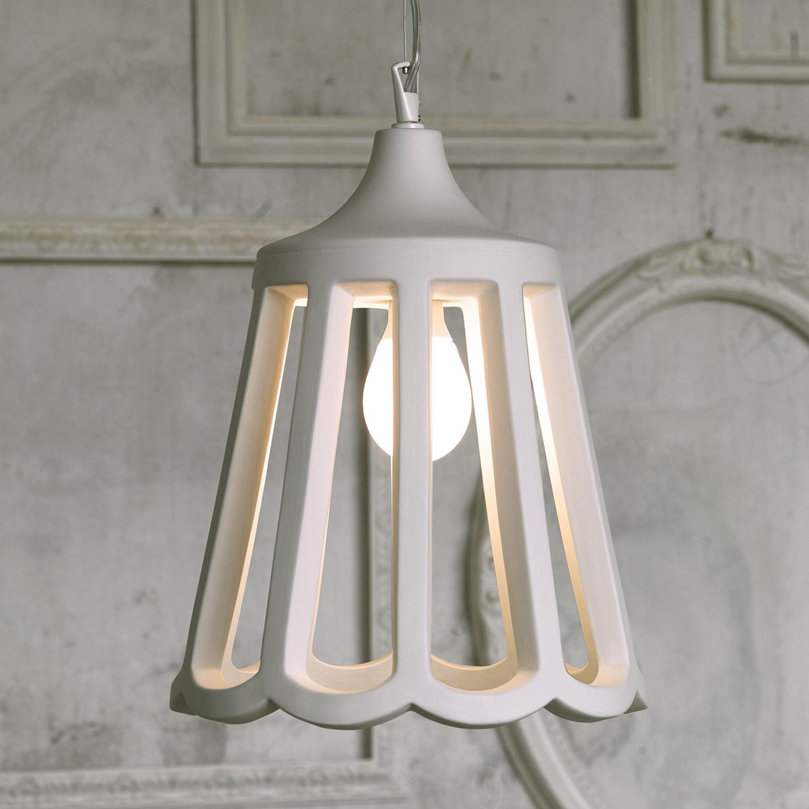 Karman Le Pupette, hængelampe i keramik, 30 cm