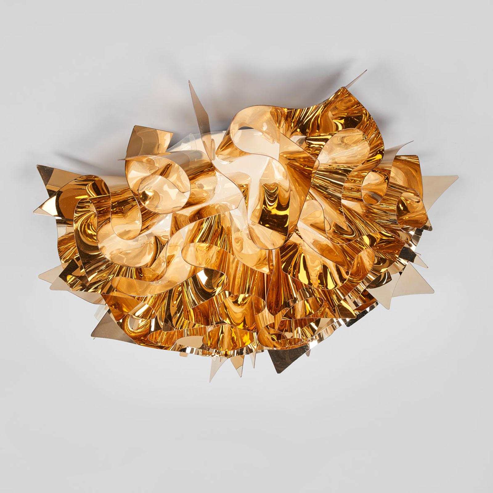 Slamp Veli Medium Design-Deckenlampe Ø 53cm gold