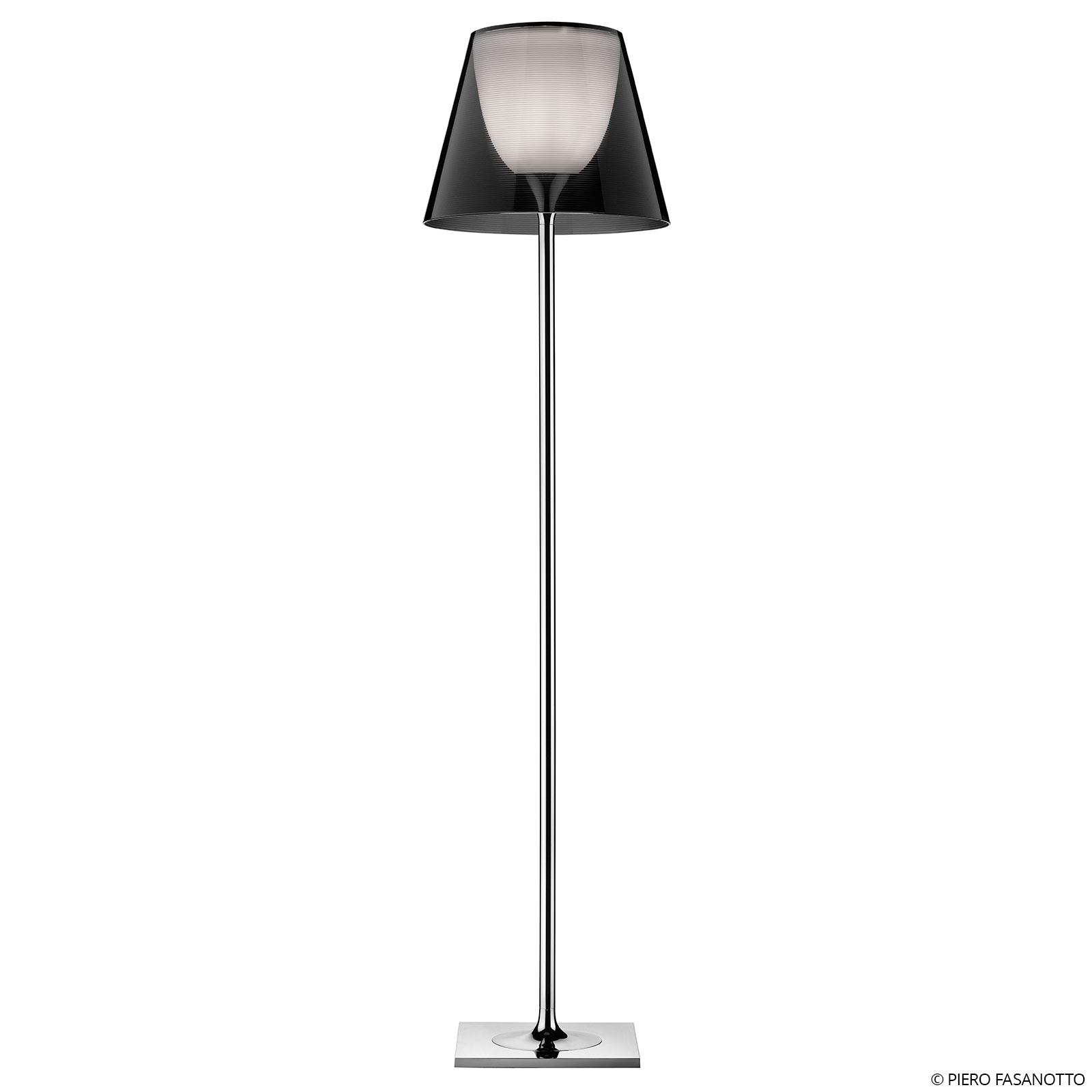 FLOS KTribe F2 lampadaire, gris fumée