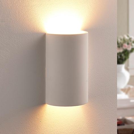 Halvrund LED-gipslampe Colja