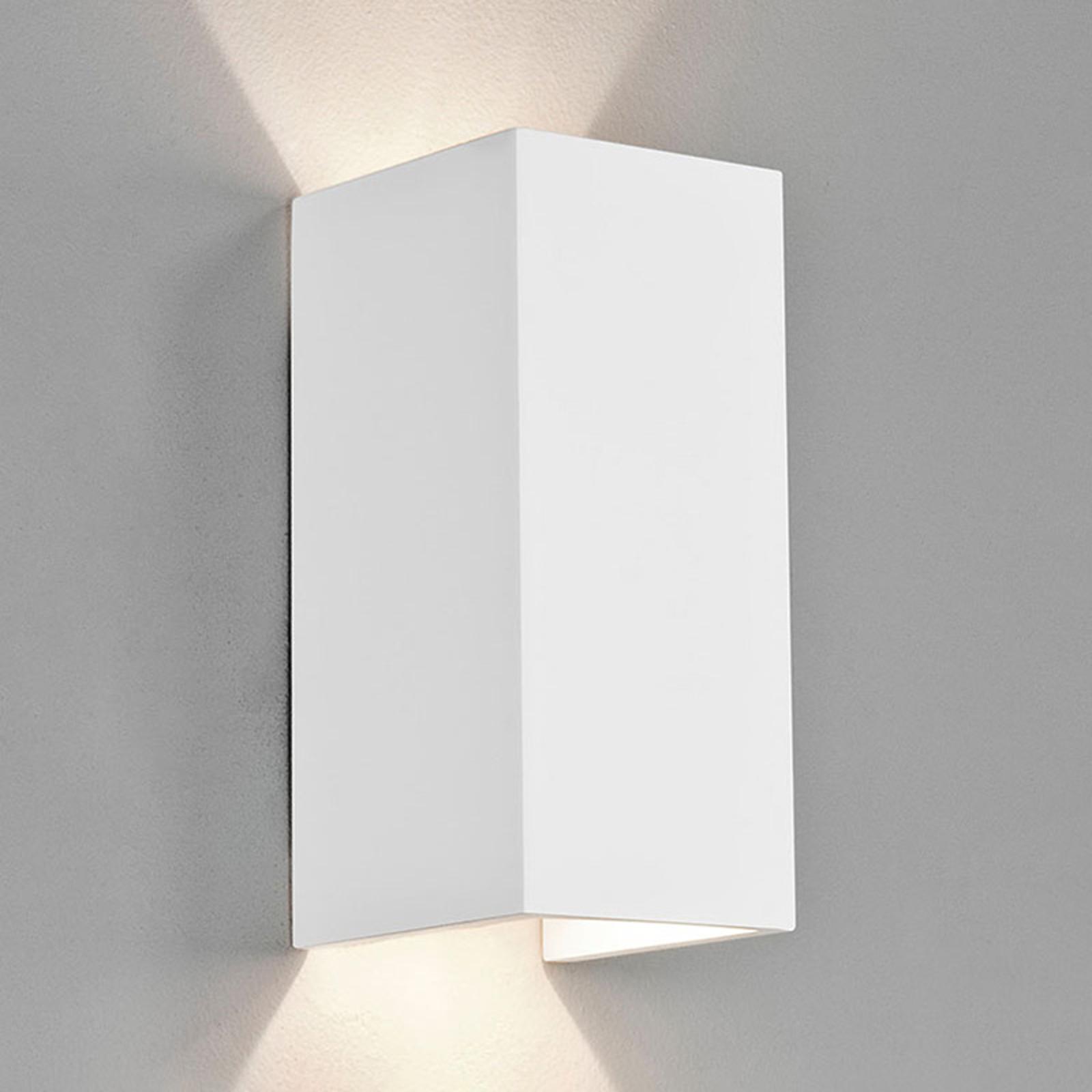 Astro Parma 210 -LED-seinävalaisin kipsiä, 2700K