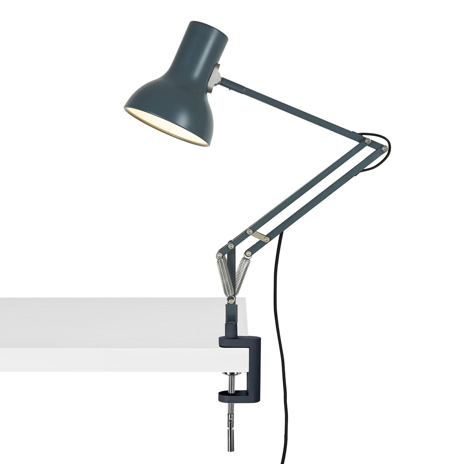 Anglepoise Type 75 Mini lampe à pince gris ardoise