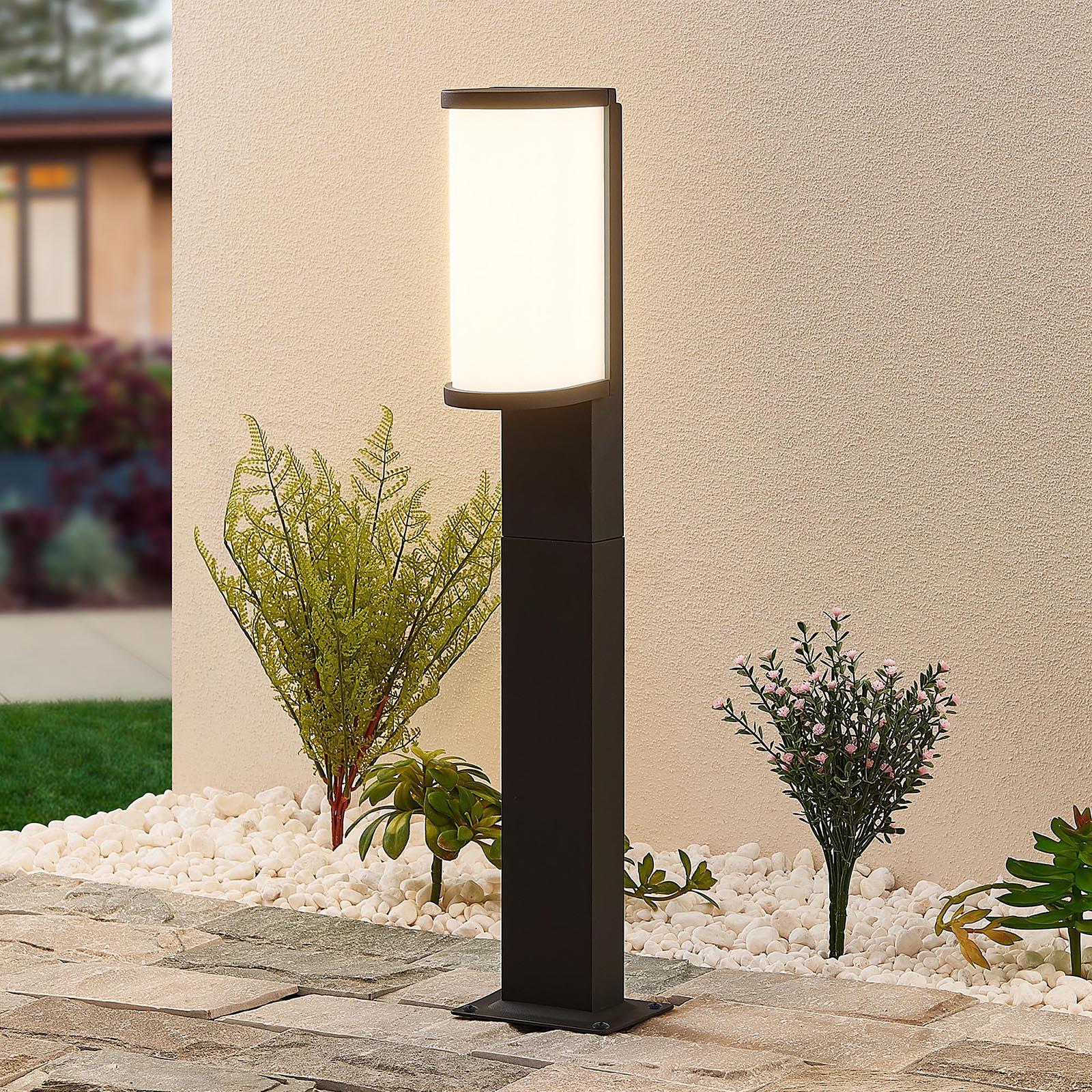 Lucande Jokum LED-Wegelampe, IP65, 60 cm
