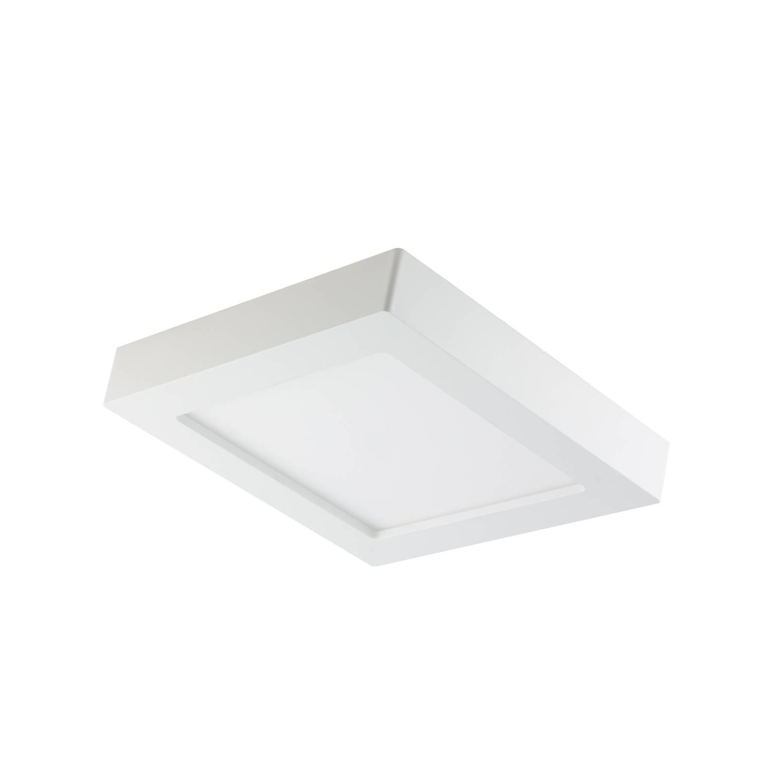 PRIOS Prios Alette stropné LED, biele 22,7cm 18W